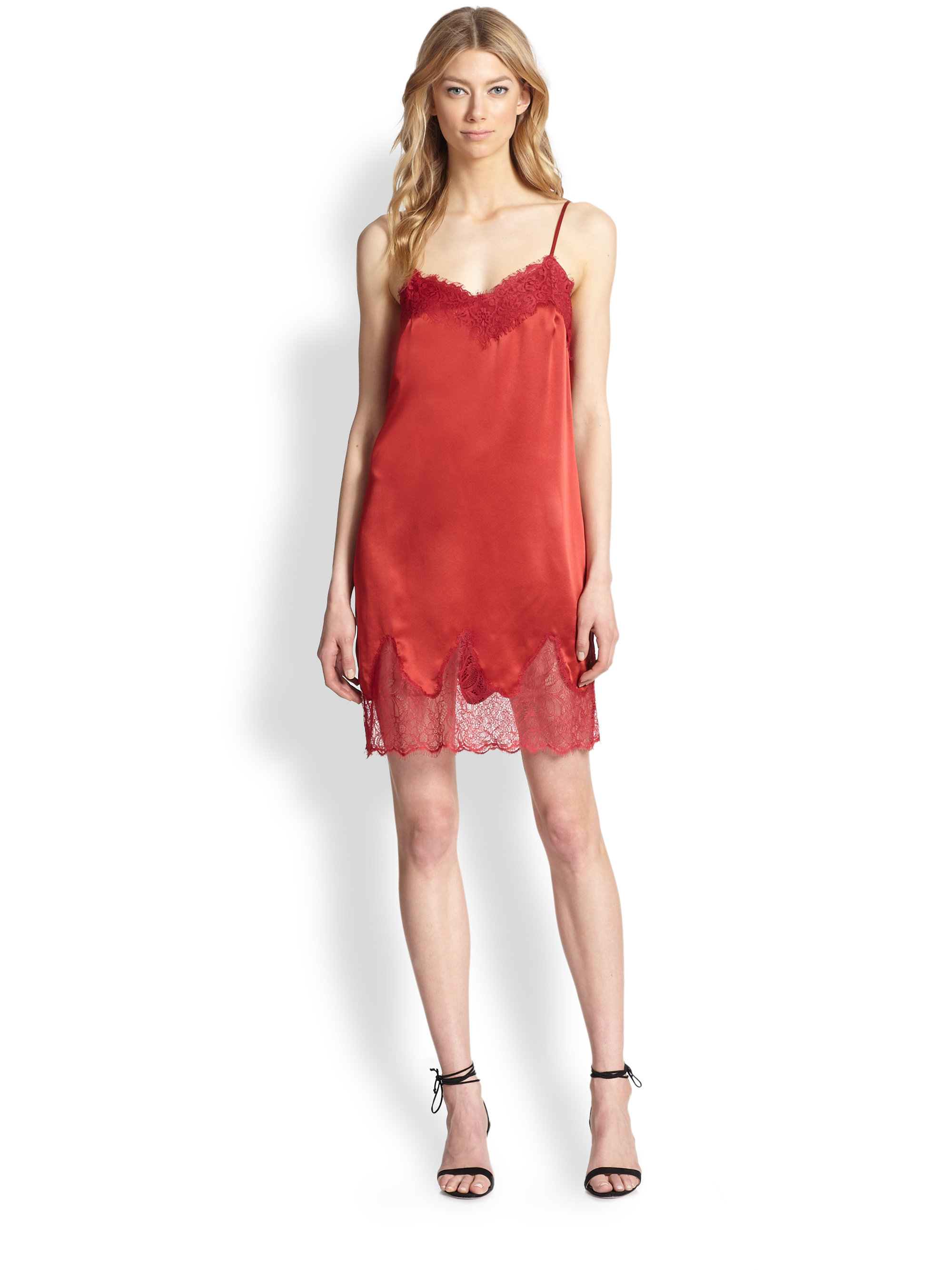 Silk Slip Dresses