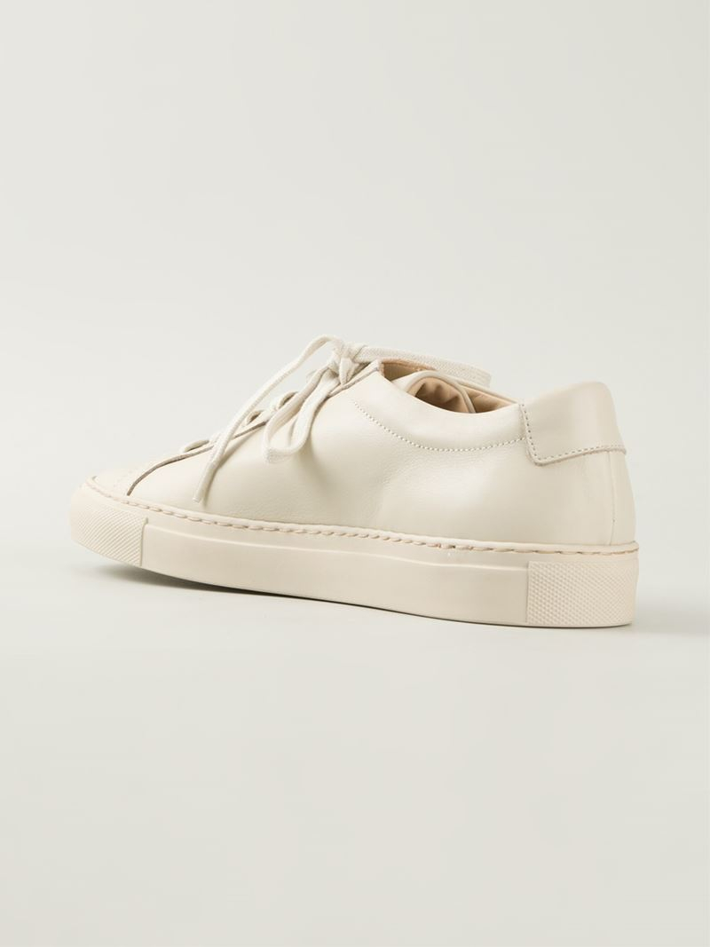 5fb3d81aab Common Projects 'Achilles' Low Top Sneakers in Natural - Lyst