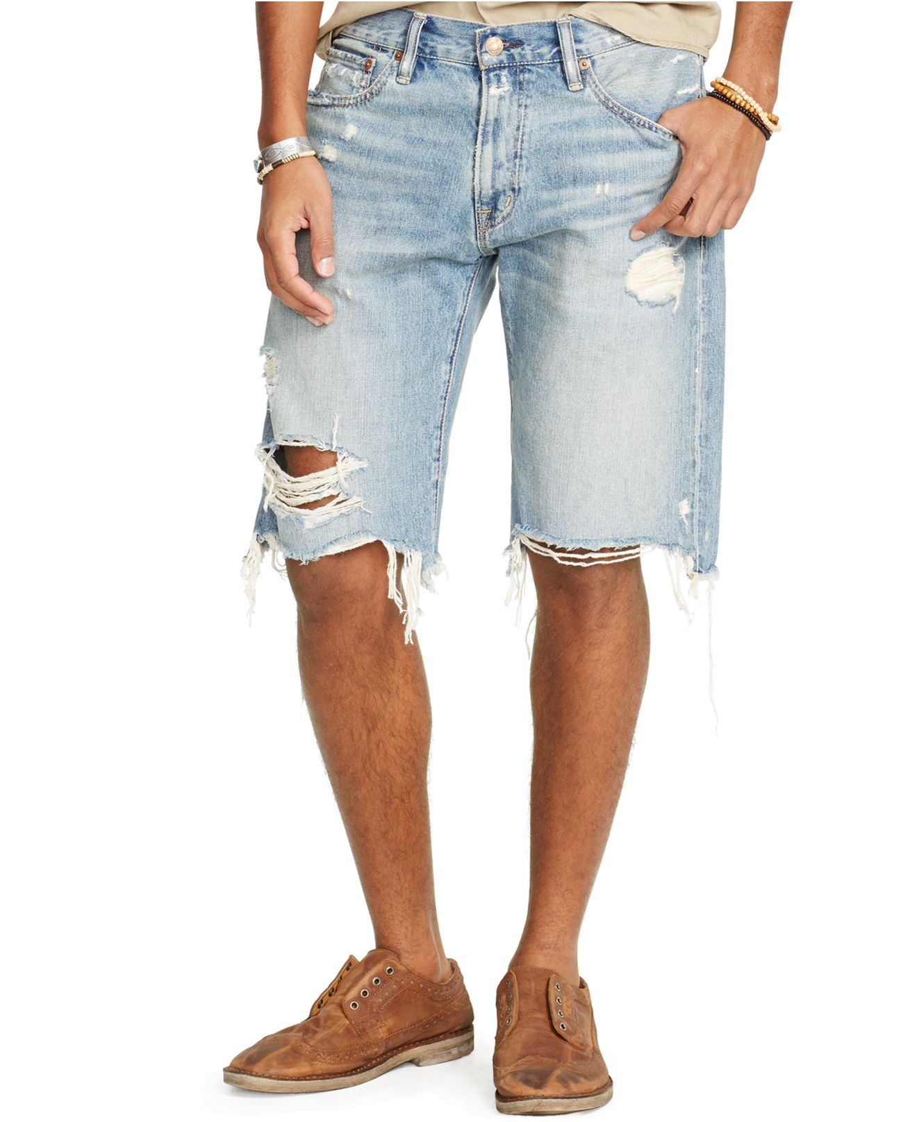Denim & supply ralph lauren Straight-fit Kingwood Shorts ...