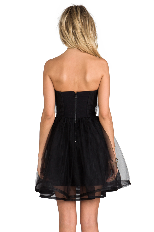 83b656a6a5 Alice + Olivia Alice Olivia Landi Gathered Cinched Waist Pouf Dress ...