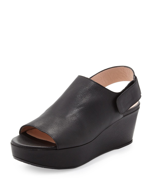 Ladies Wedge Peep Toe Shoes