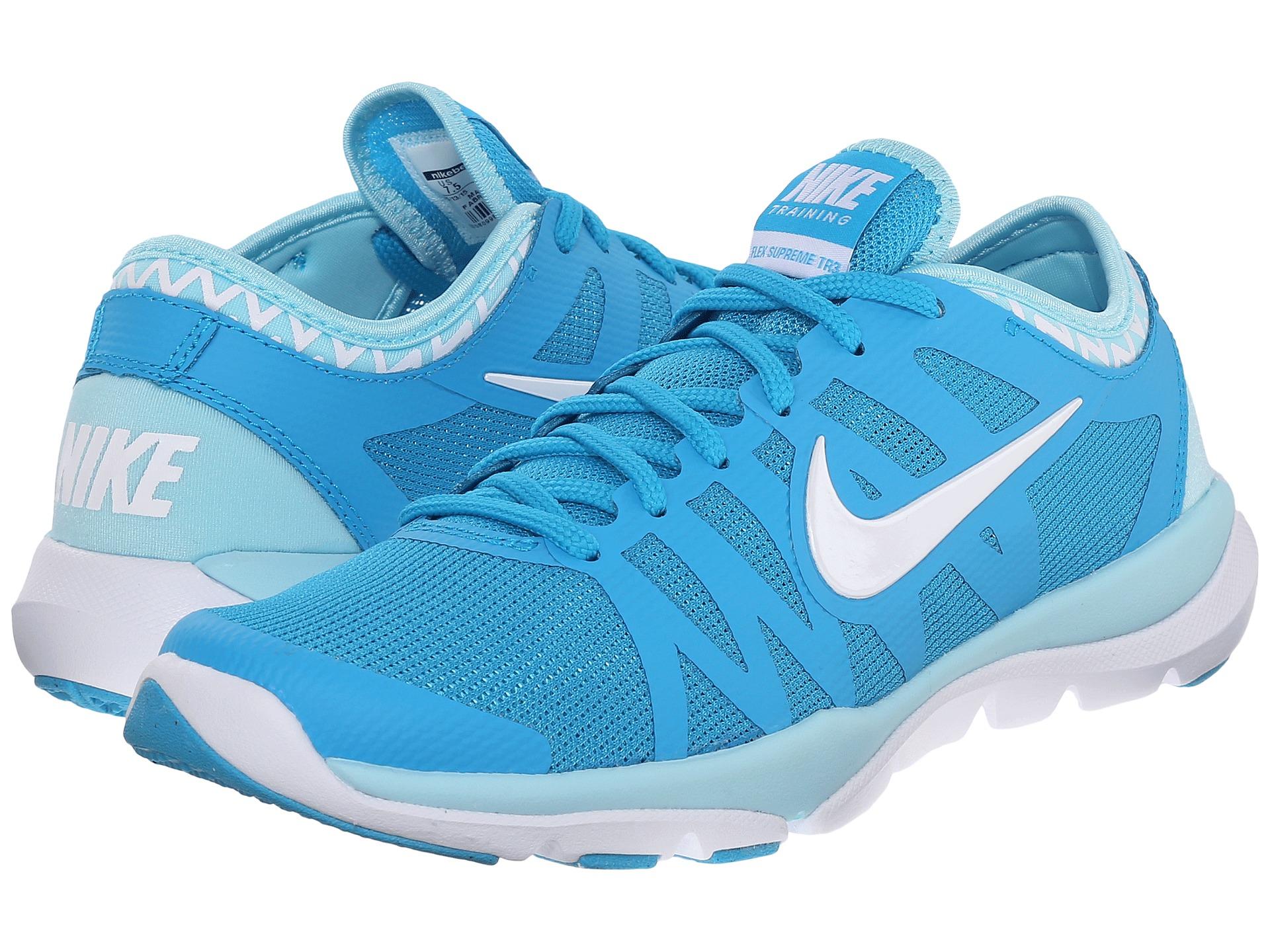 quality design 82938 8f6d9 Nike Flex Supreme Tr 3 in Blue for Men - Lyst