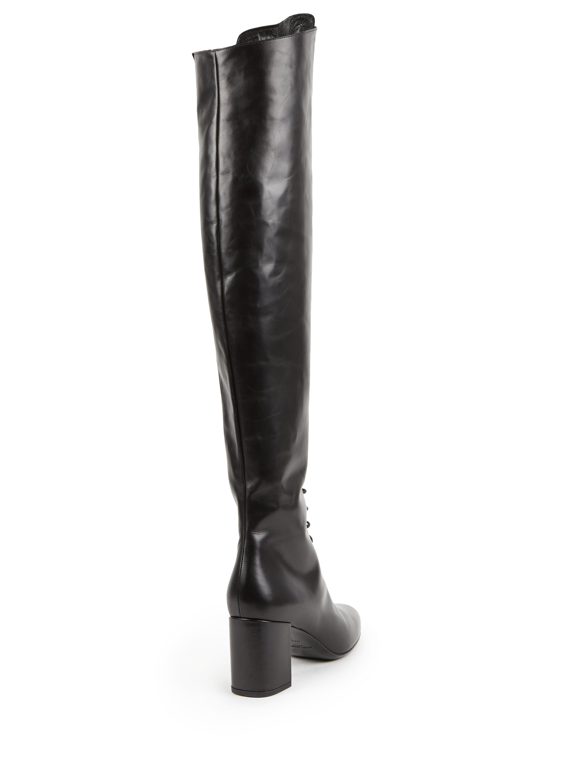 Saint LaurentOver-The-Knee Leather Boots
