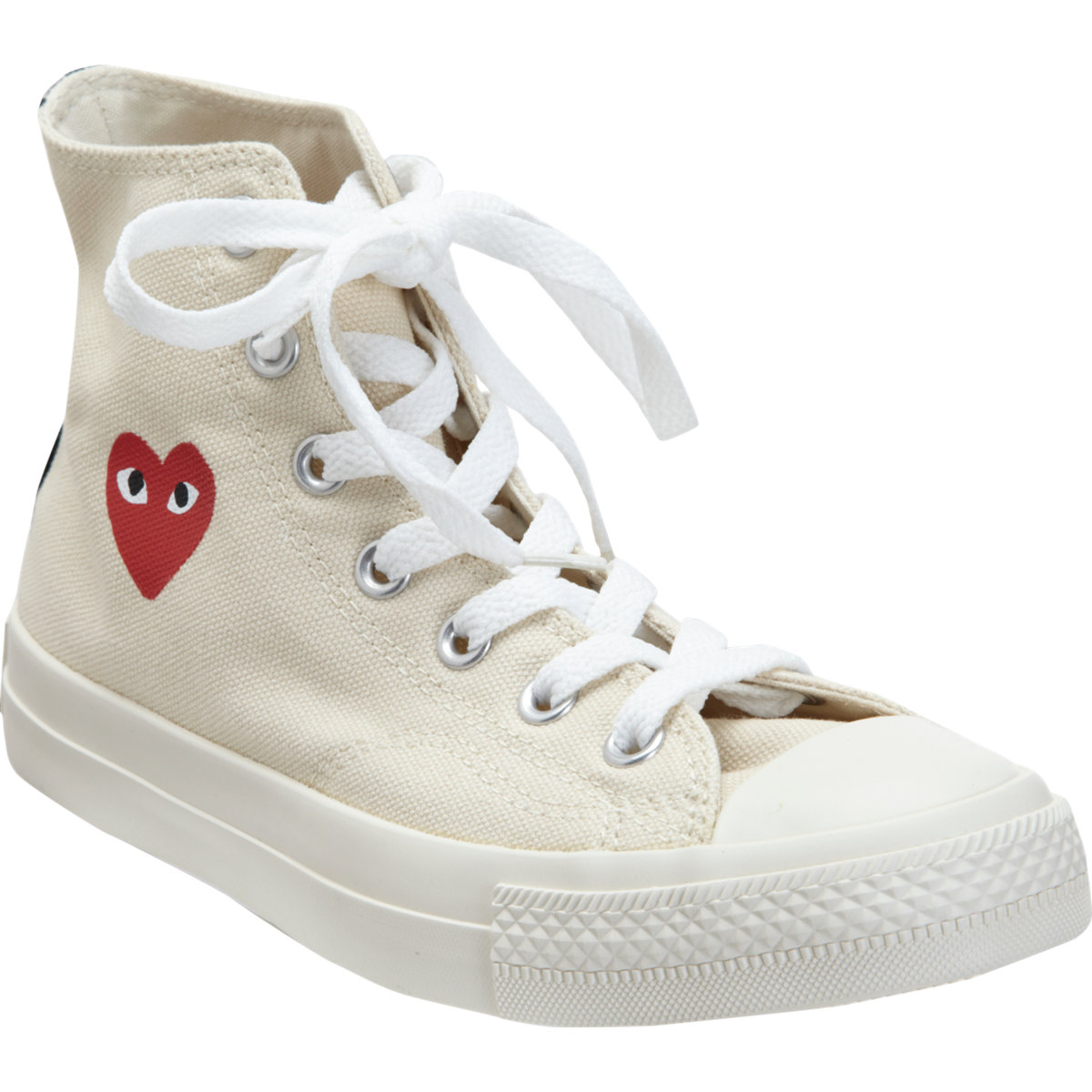 3b7871bf651 Lyst - Play Comme des Garçons Women s Chuck Taylor High-top Sneakers ...