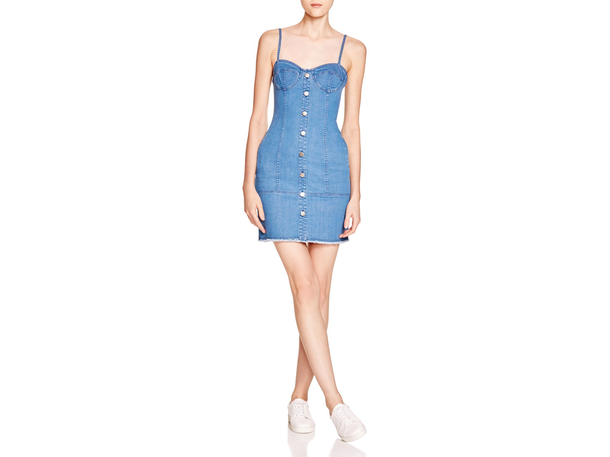 419cc496c6 Gallery. Previously sold at  Bloomingdale s · Women s Denim Dresses ...