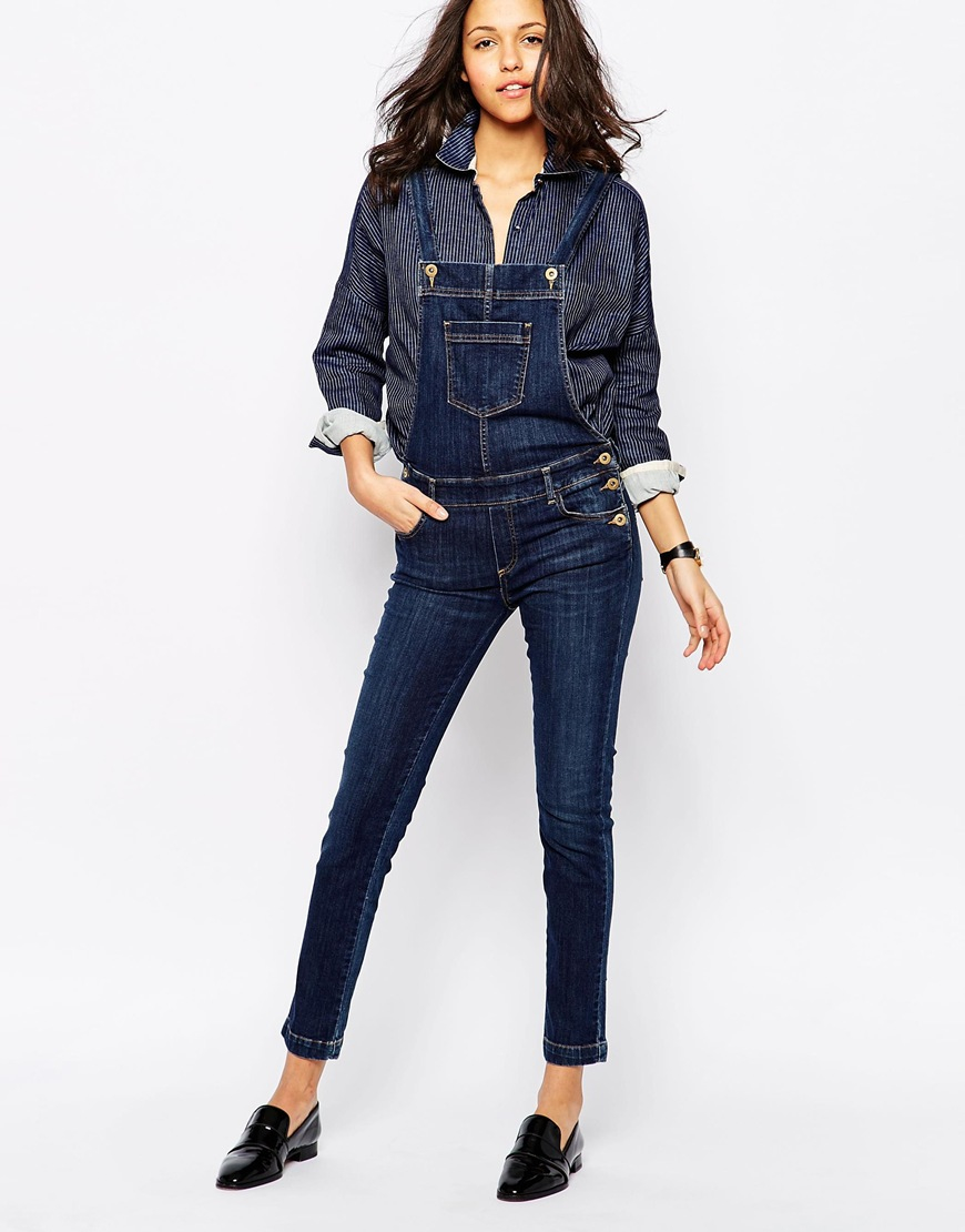 Sessun Maria Denim Jumpsuit in Blue | Lyst