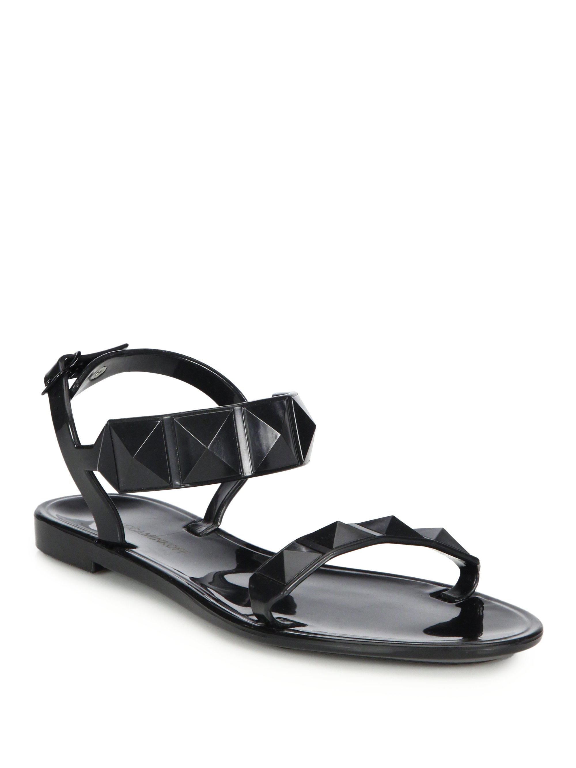 explore cheap online Rebecca Minkoff Embellished Jelly Sandals good selling sale online huge surprise cheap price cheap price from china t38ERr
