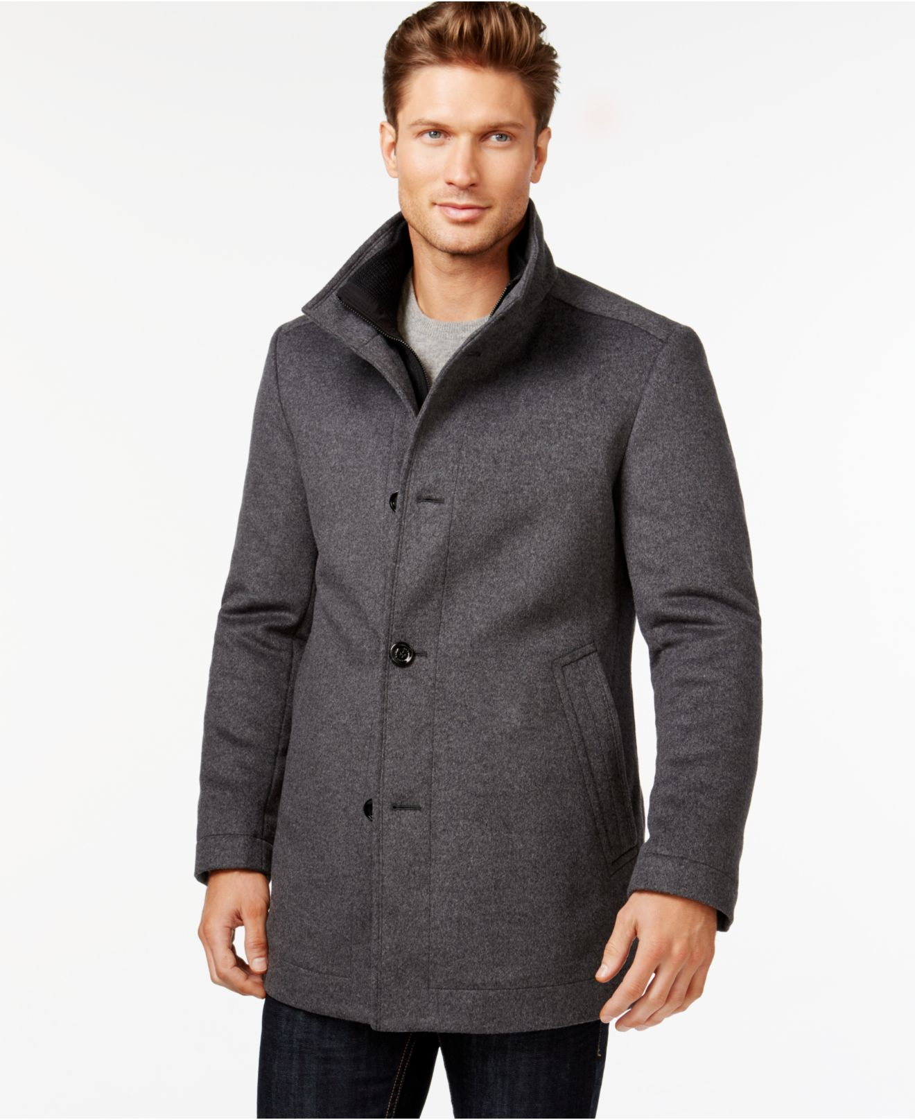 hugo boss 100 cashmere coat