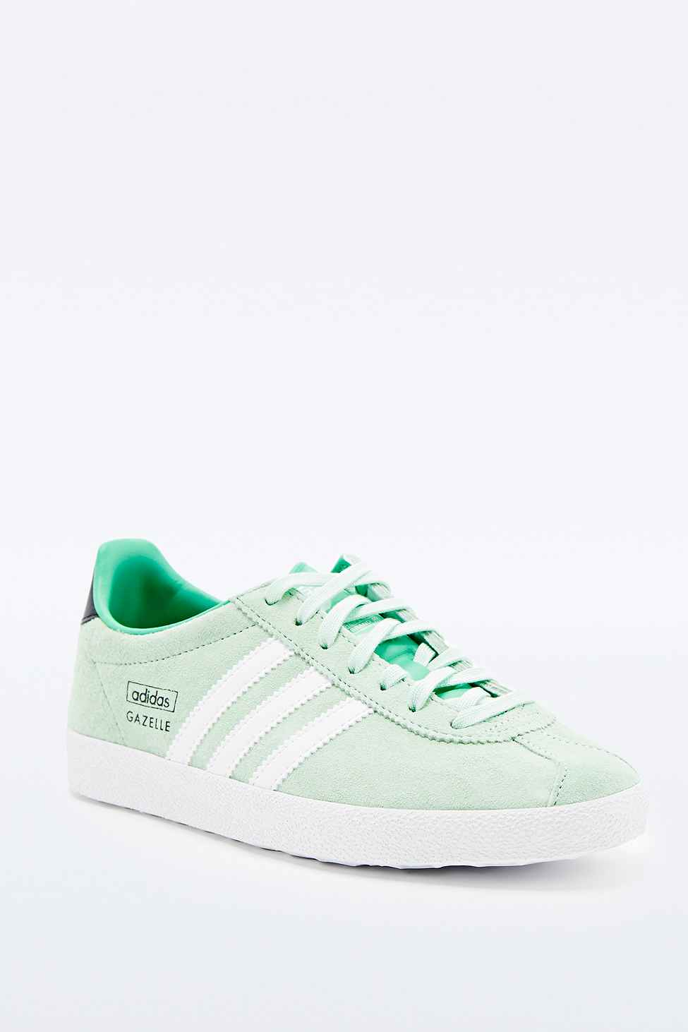 acf34ccaa286 adidas Gazelle Trainers In Mint in Green - Lyst
