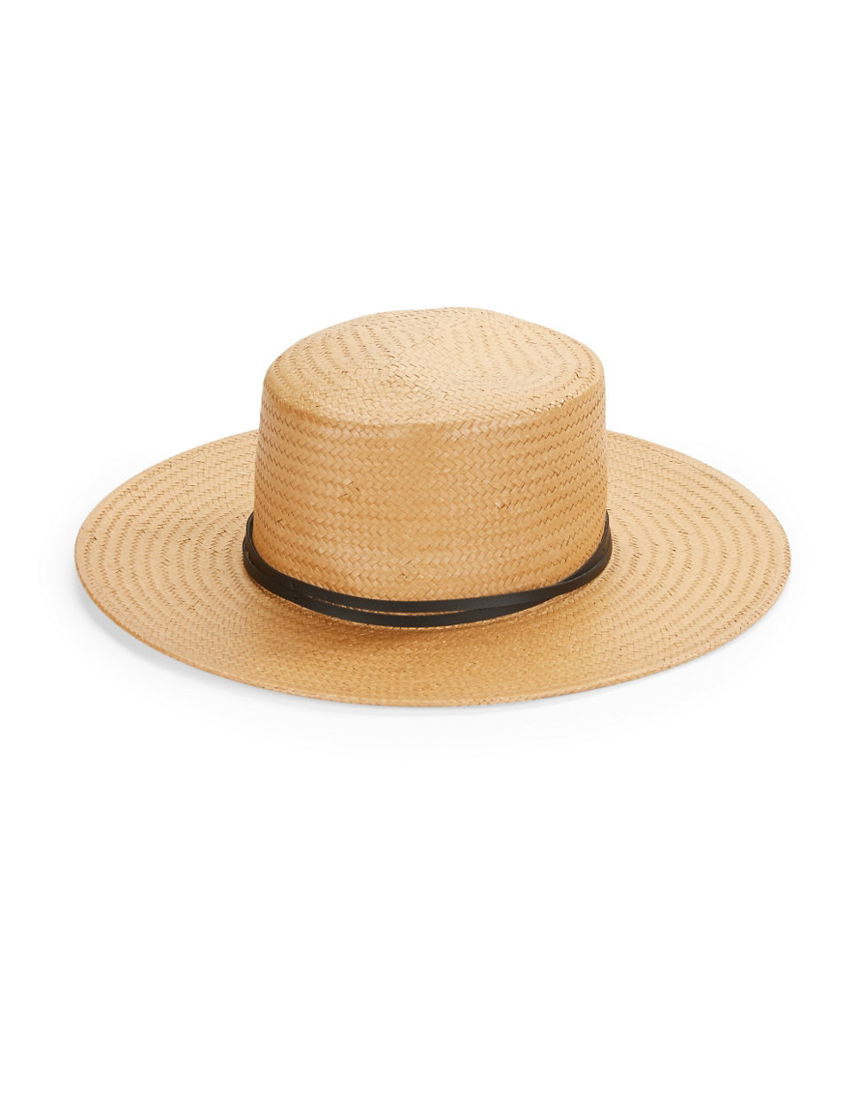 8e8ce6caa95 Bcbgeneration Woven Gaucho Hat in Natural - Lyst