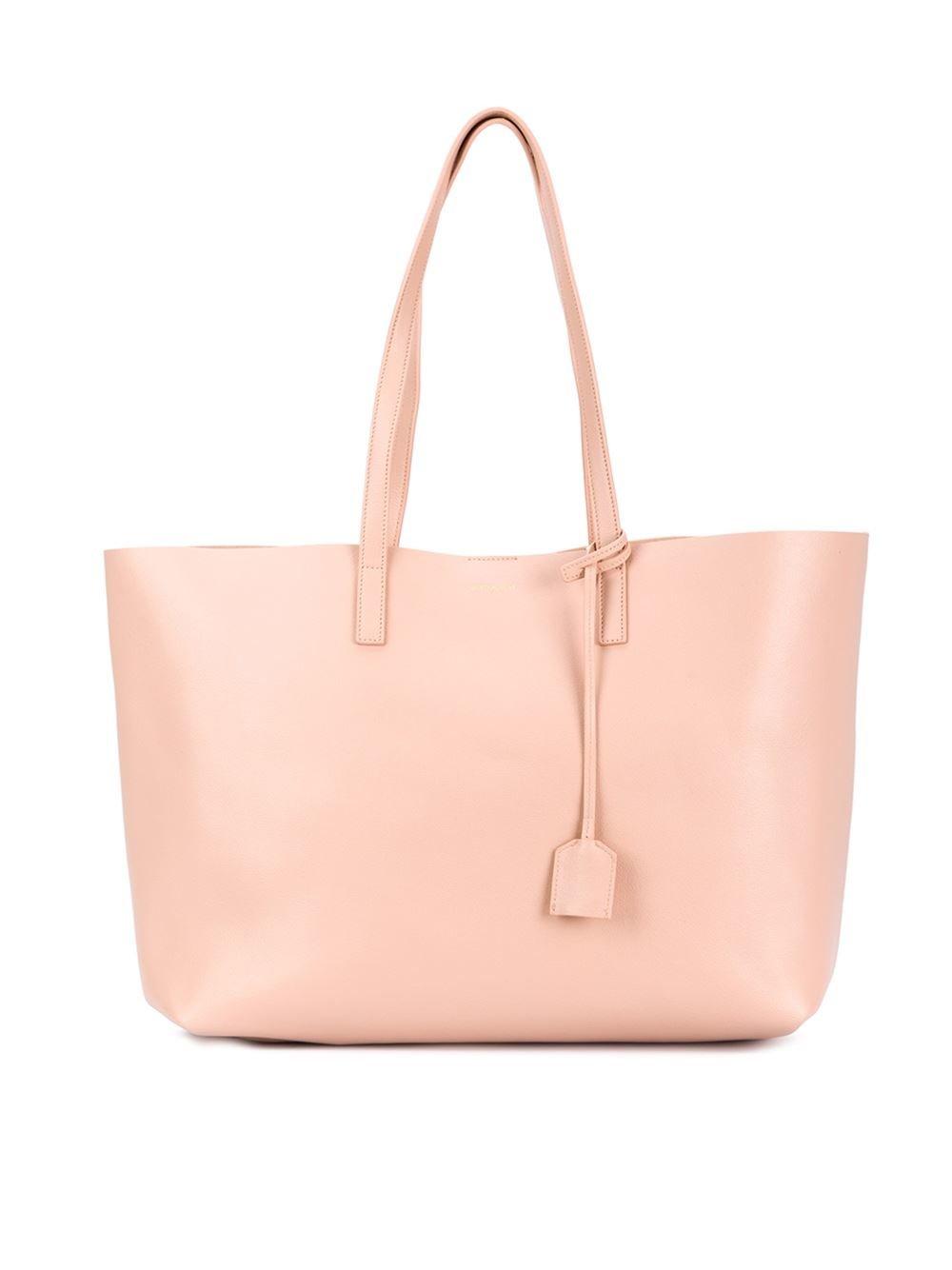 81f6b0d3df513 Lyst - Saint Laurent  paris  Shopper Tote in Pink