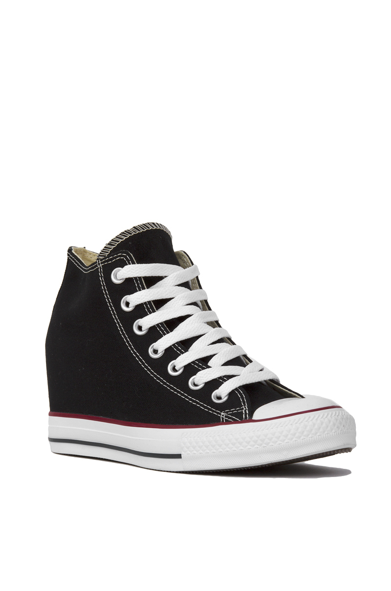 69a7eec5c8e2 Lyst - Converse Women s Chuck Taylor All Star Lux Mid Top Sneaker ...