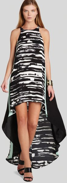 Bcbgmaxazria Bcbg Max Azria Dress Malisa Color Block Print
