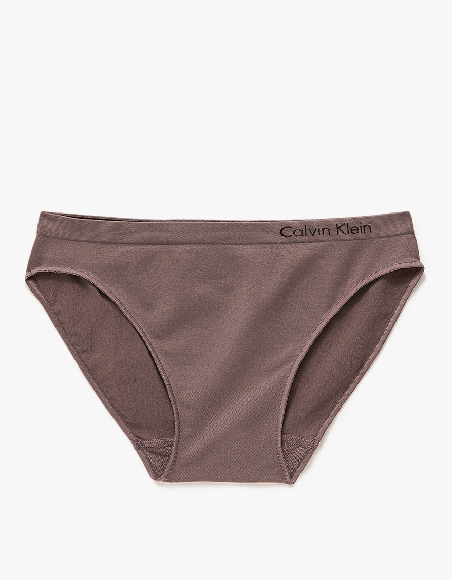 7d5e3b6de11f6 Lyst - Calvin Klein Pure Seamless Bikini in Black