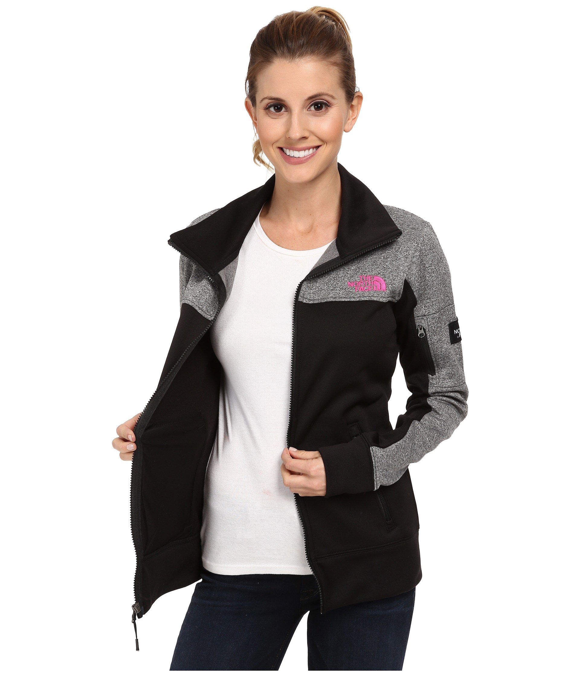6236cbfd1582 The North Face Mens Canyonwall Vest - Gray XL The north face Mayzie  Full-Zip in Gray Lyst ...