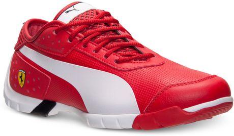 puma men's future cat sl sf casual sneakers from finish