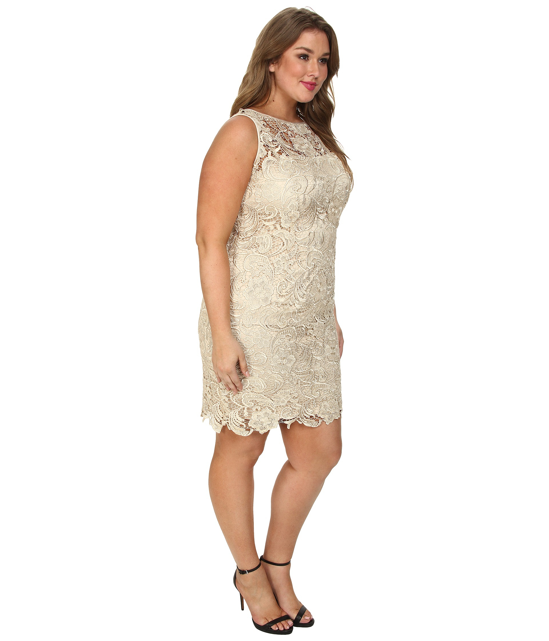 Cream Lace Dress Plus Size | Huston Fislar Photography