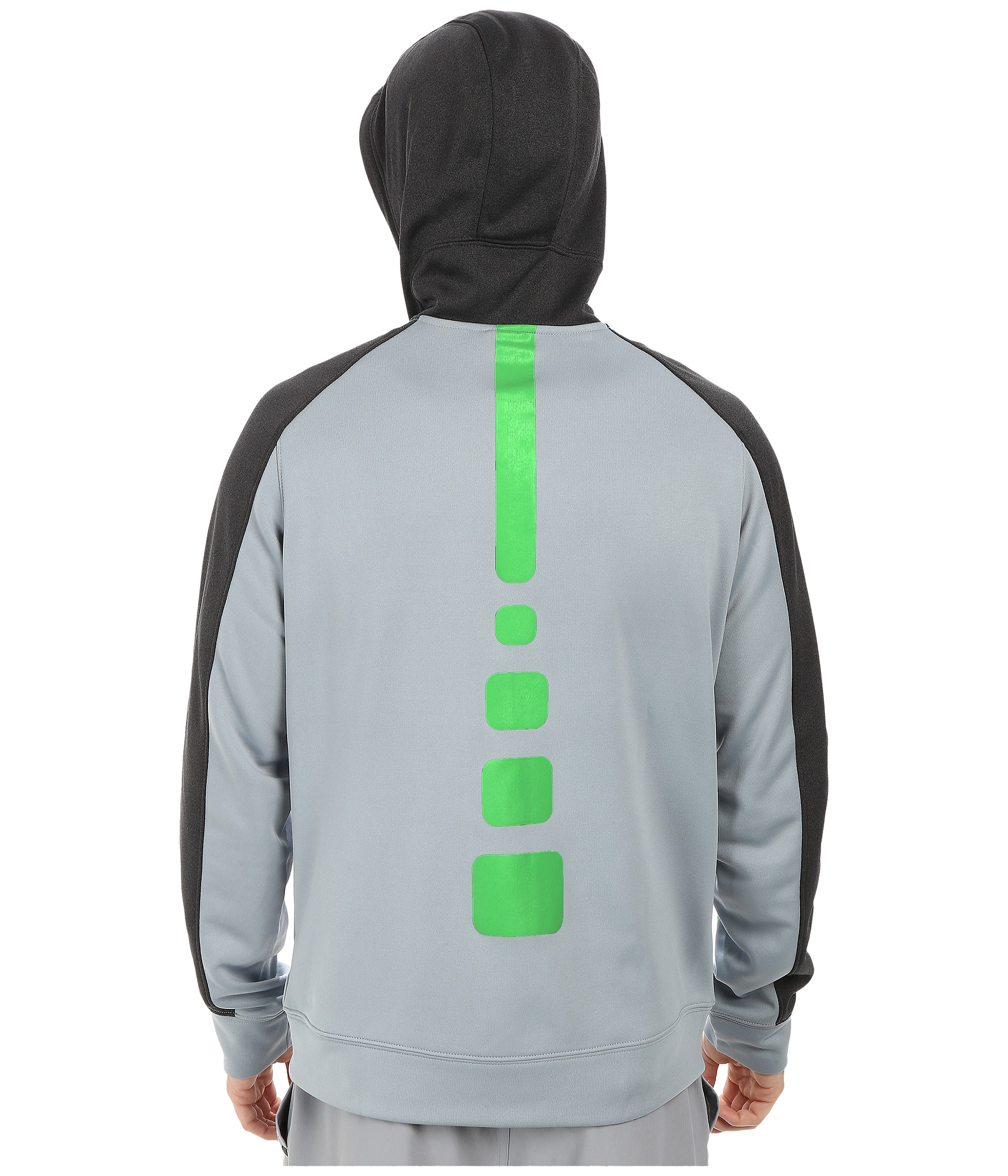 8e915f1ebe27 Lyst - Nike Elite Stripe Full-zip Performance Fleece Hoodie in Gray ...