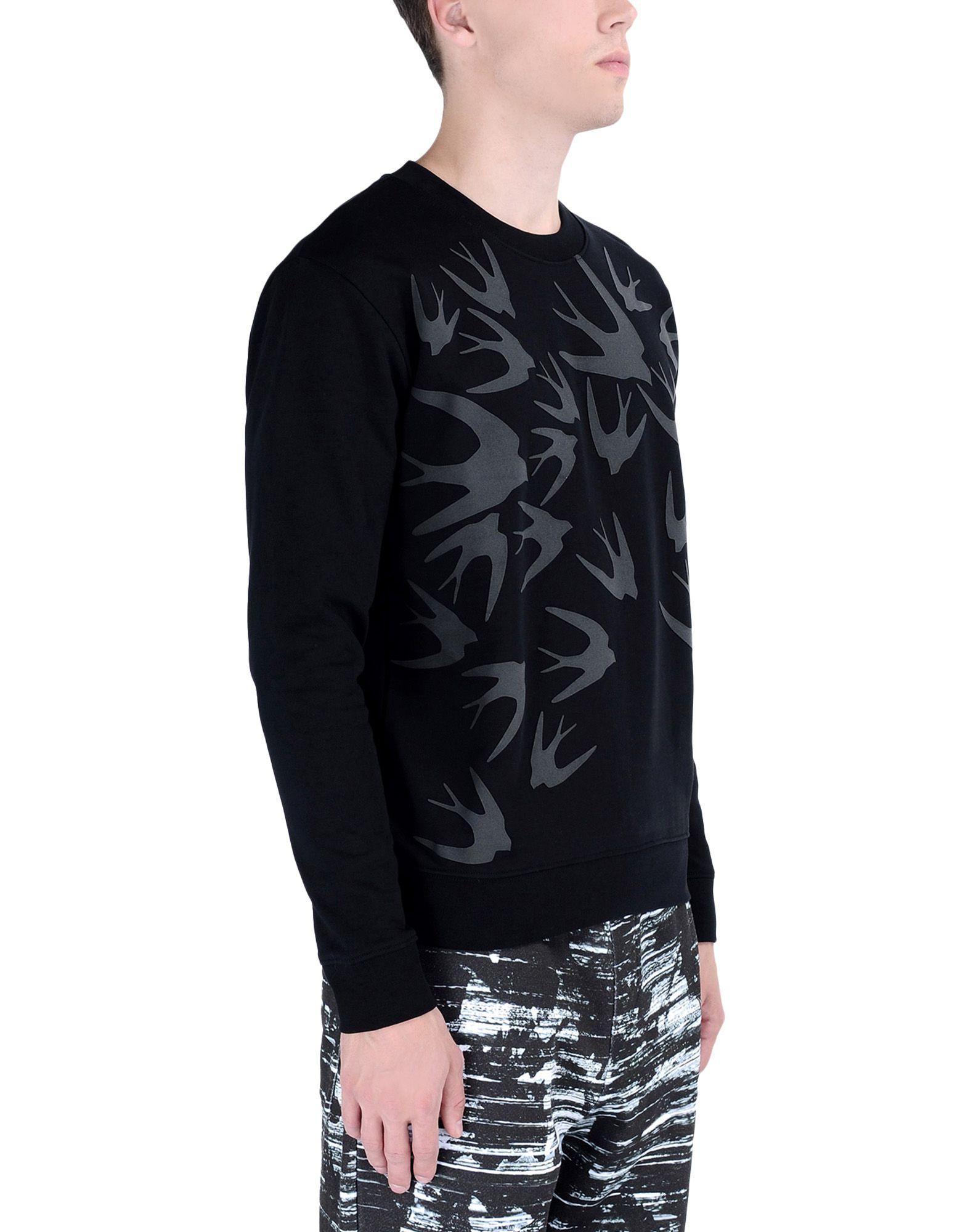 mcq alexander mcqueen sweatshirt in black for men lyst. Black Bedroom Furniture Sets. Home Design Ideas