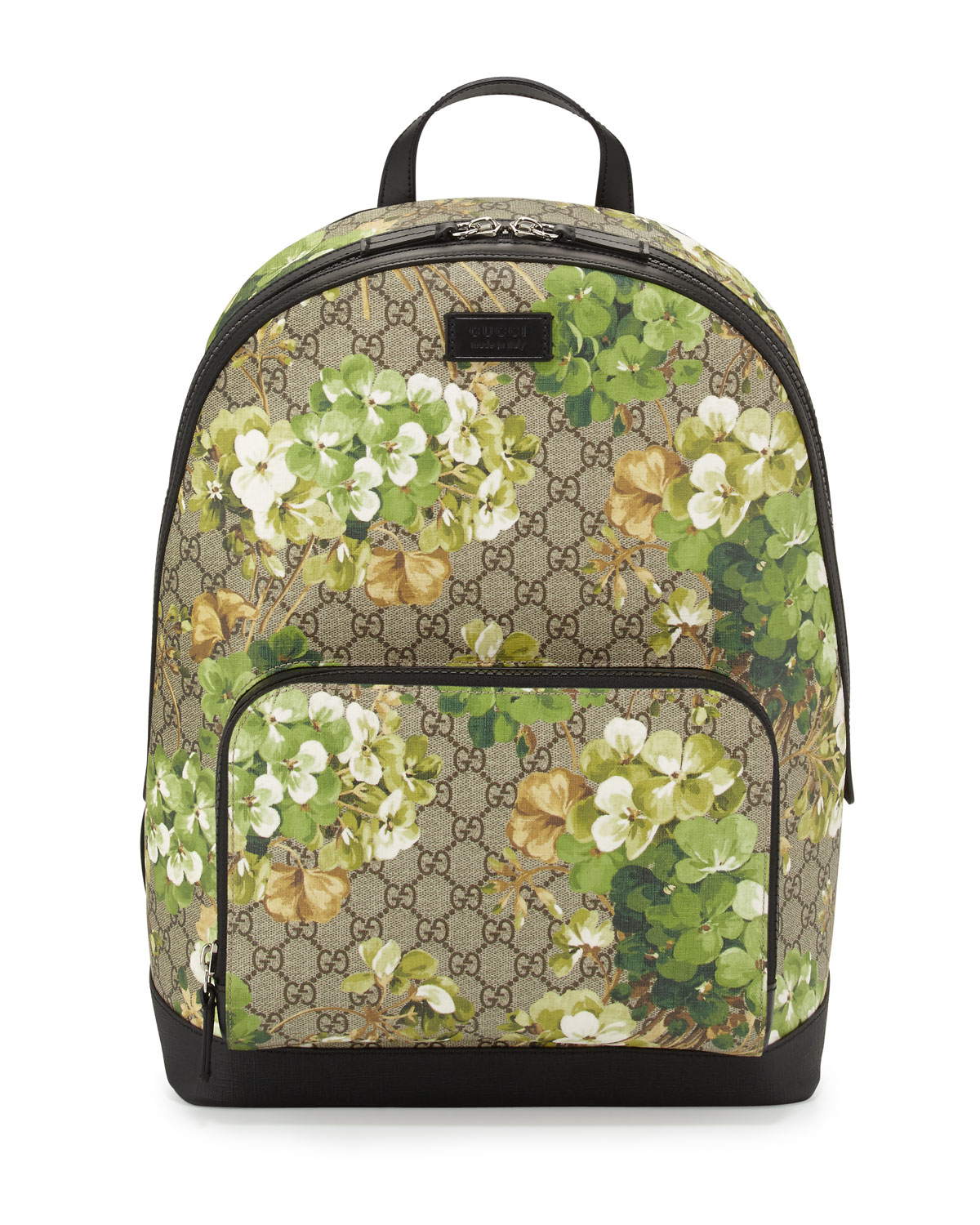 032e82a909e Gucci Gg Blooms Canvas Backpack in Blue - Lyst