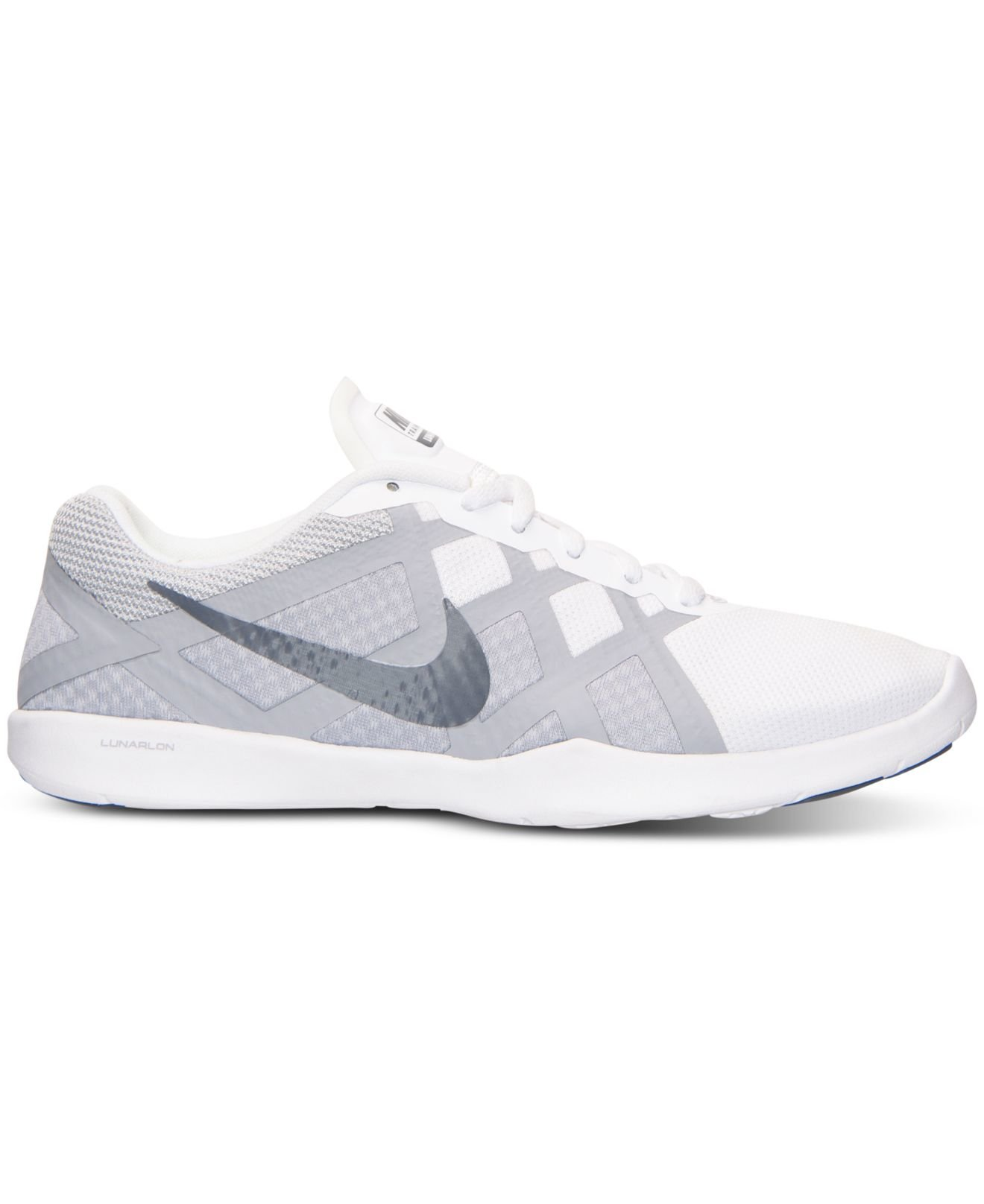 a9c9947b59a1 ... Lyst - Nike Womens Lunar Lux Tr Training Sneakers From Finis ...