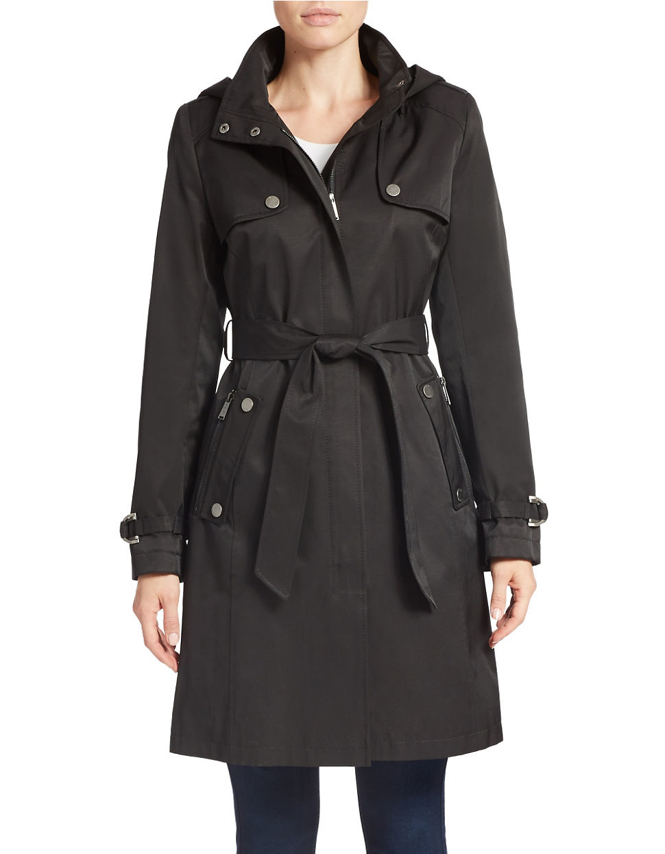 Women's Black Trench Coats. Clothing. Women. Womens Coats & Jackets. Women's Black Trench Coats. Showing 48 of 90 results that match your query. Search Product Result. Product - Plus Size Womens Autumn Fall Winter Outwear Long Trench Coat Overcoat Jackets .