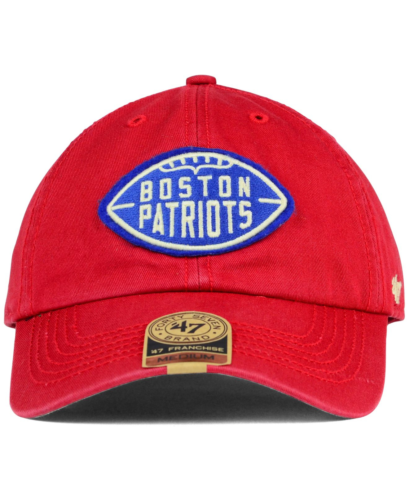 Lyst - 47 Brand New England Patriots Papa Franchise Cap in Red for Men 1a0a805c143