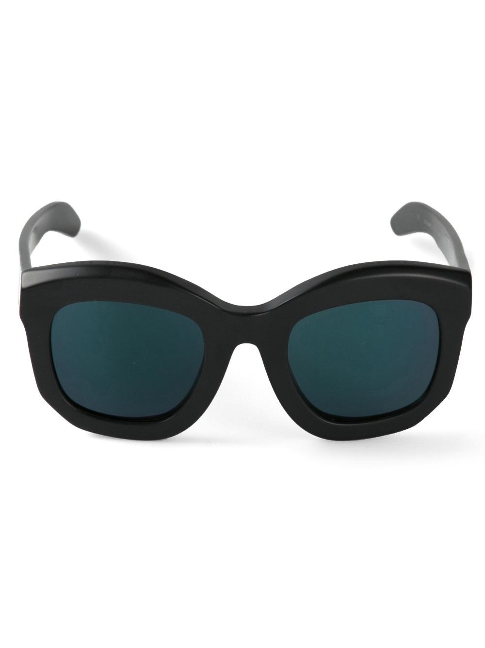Kuboraum Mask B2 Sunglasses in Black for Men