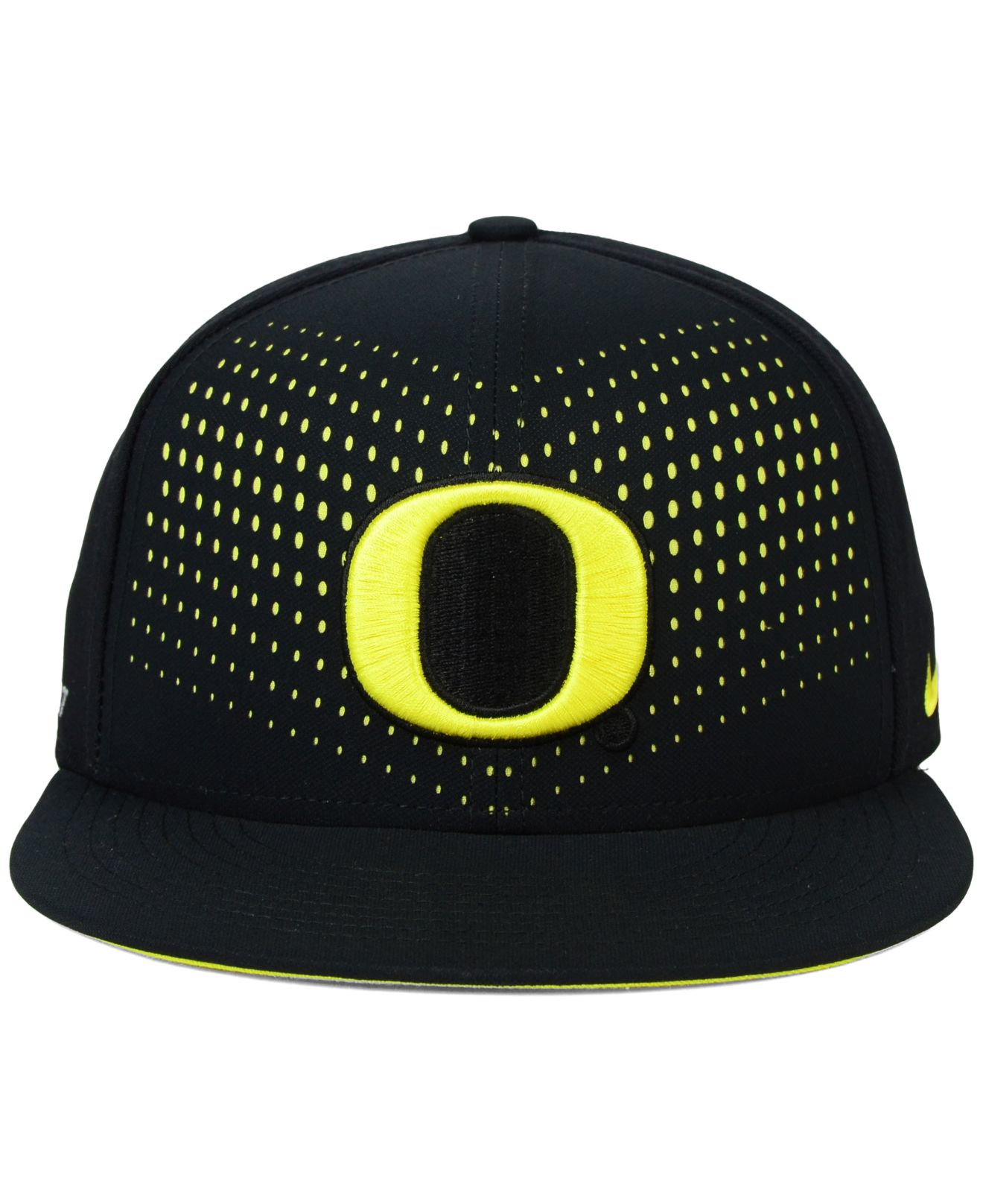 ... vapor performance fitted hat 1447a e71d2  best price lyst nike oregon  ducks true seasonal snapback cap in black for men 68b75 0f325 f6ff1a81c