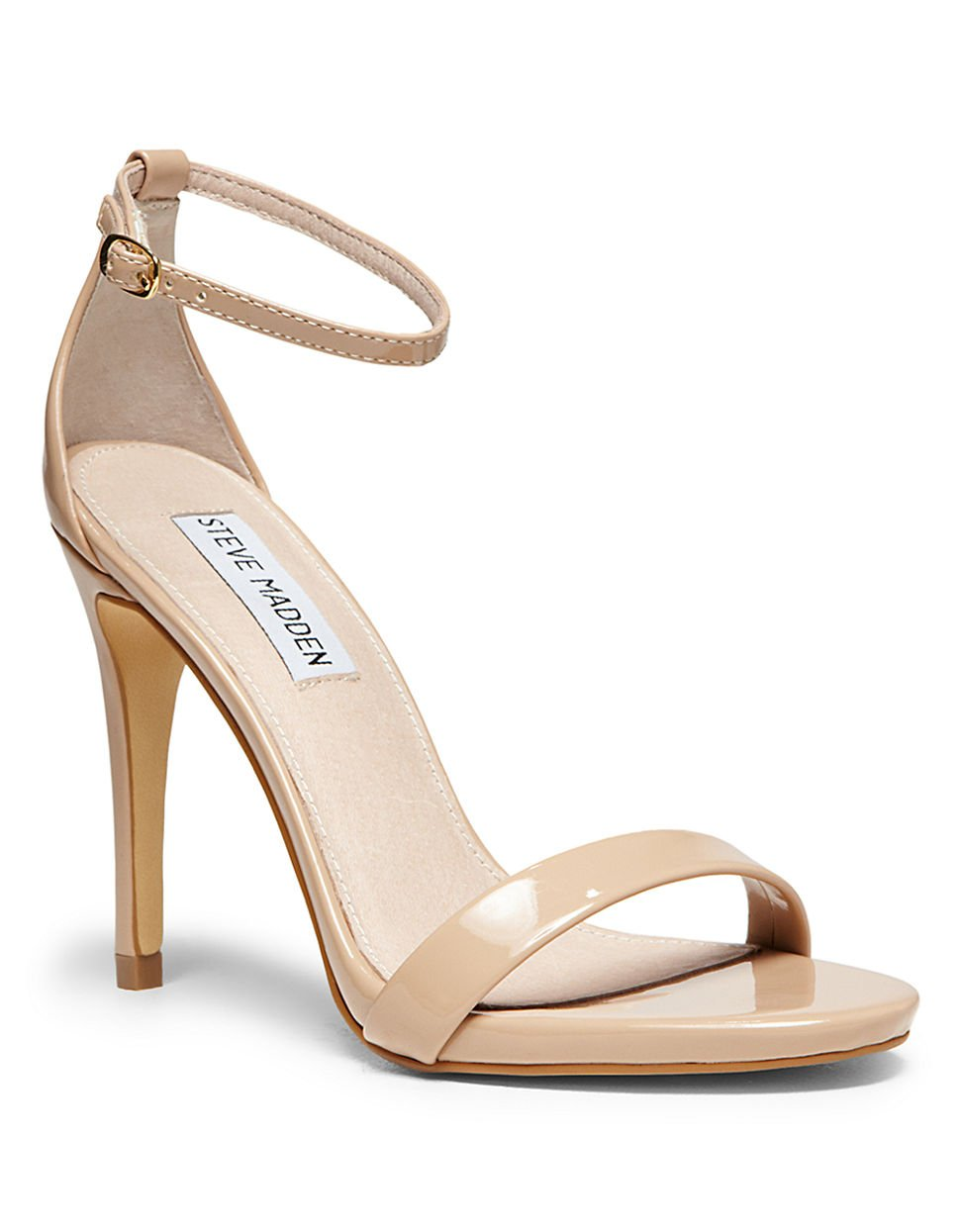 Steve Madden Stecy Strappy Sandals In Pink  Lyst-3614
