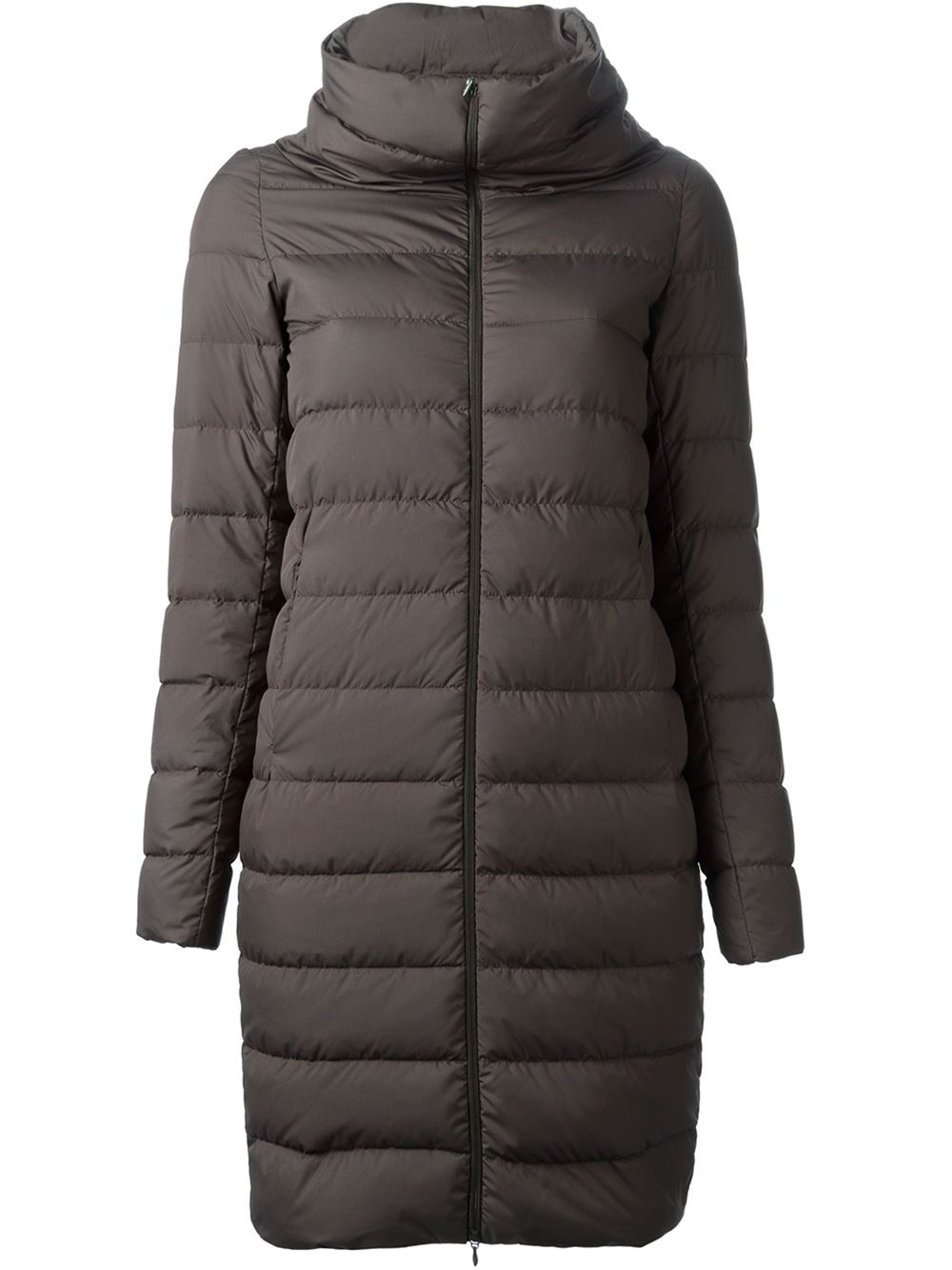 Padded coat by KAM, Suede finish, Zip and press stud fastening, Two hand pockets, Two chest pockets, Two large inside pockets, One smaller inside pocket, Adjustable cuffs with press stud fastening, KAM branded press studs, Toggles inside to adjust waist, .