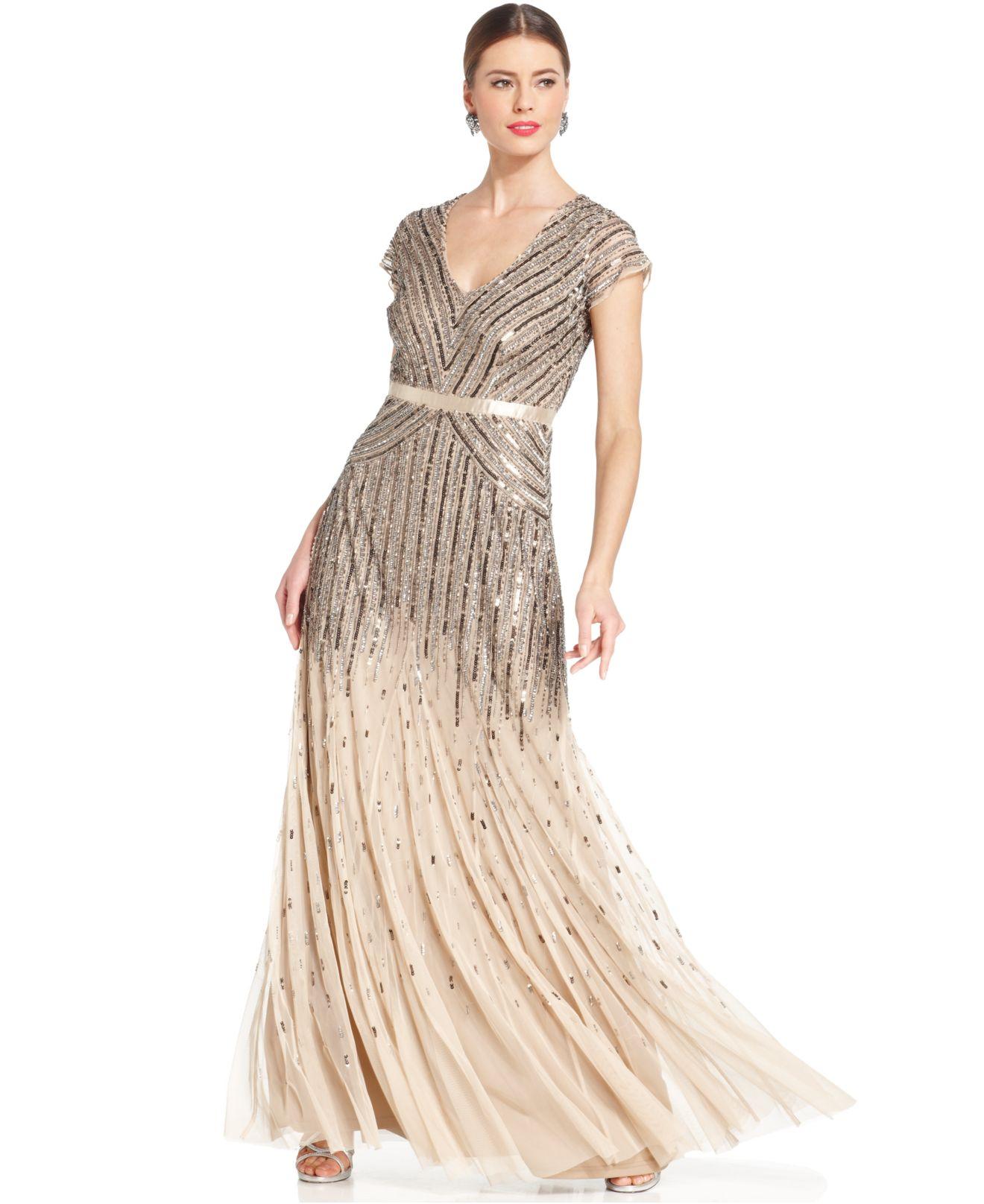 Adrianna Papell Long Evening Dresses – fashion dresses