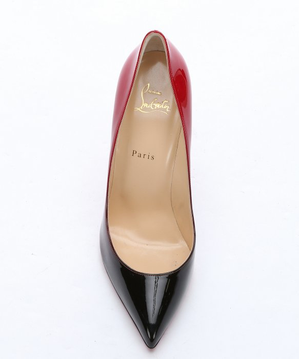 red bottom shoes for men - christian louboutin pigalle follies Black-Red PatentLeather ...