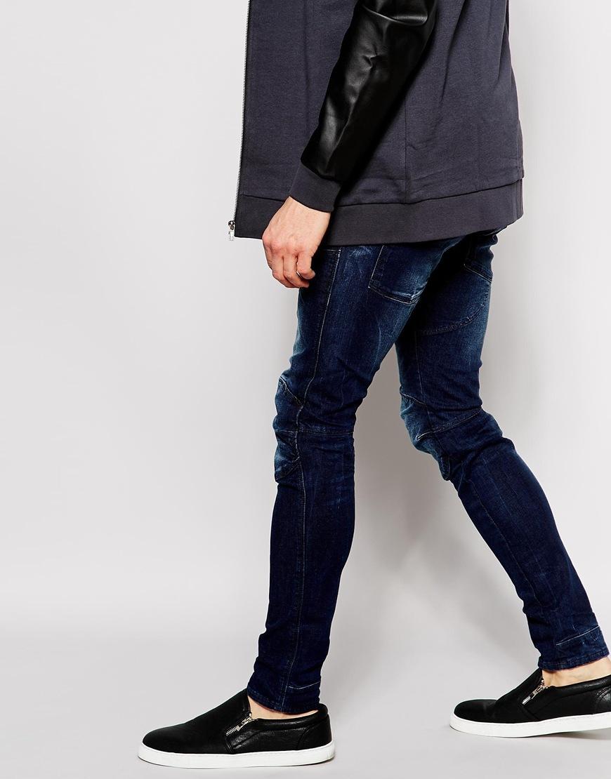 g star raw jeans elwood 5620 3d super slim stretch dark. Black Bedroom Furniture Sets. Home Design Ideas