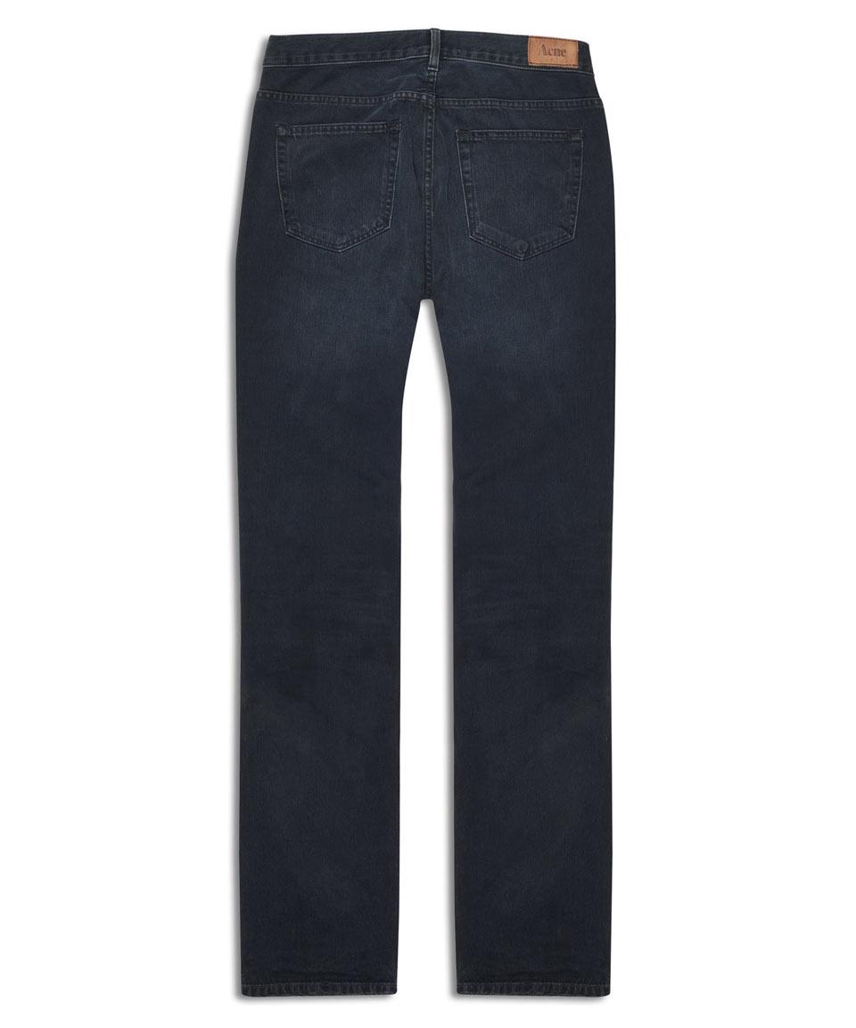 Lyst Acne Studios Roc Lana Straight Blue Jeans L32 Acne