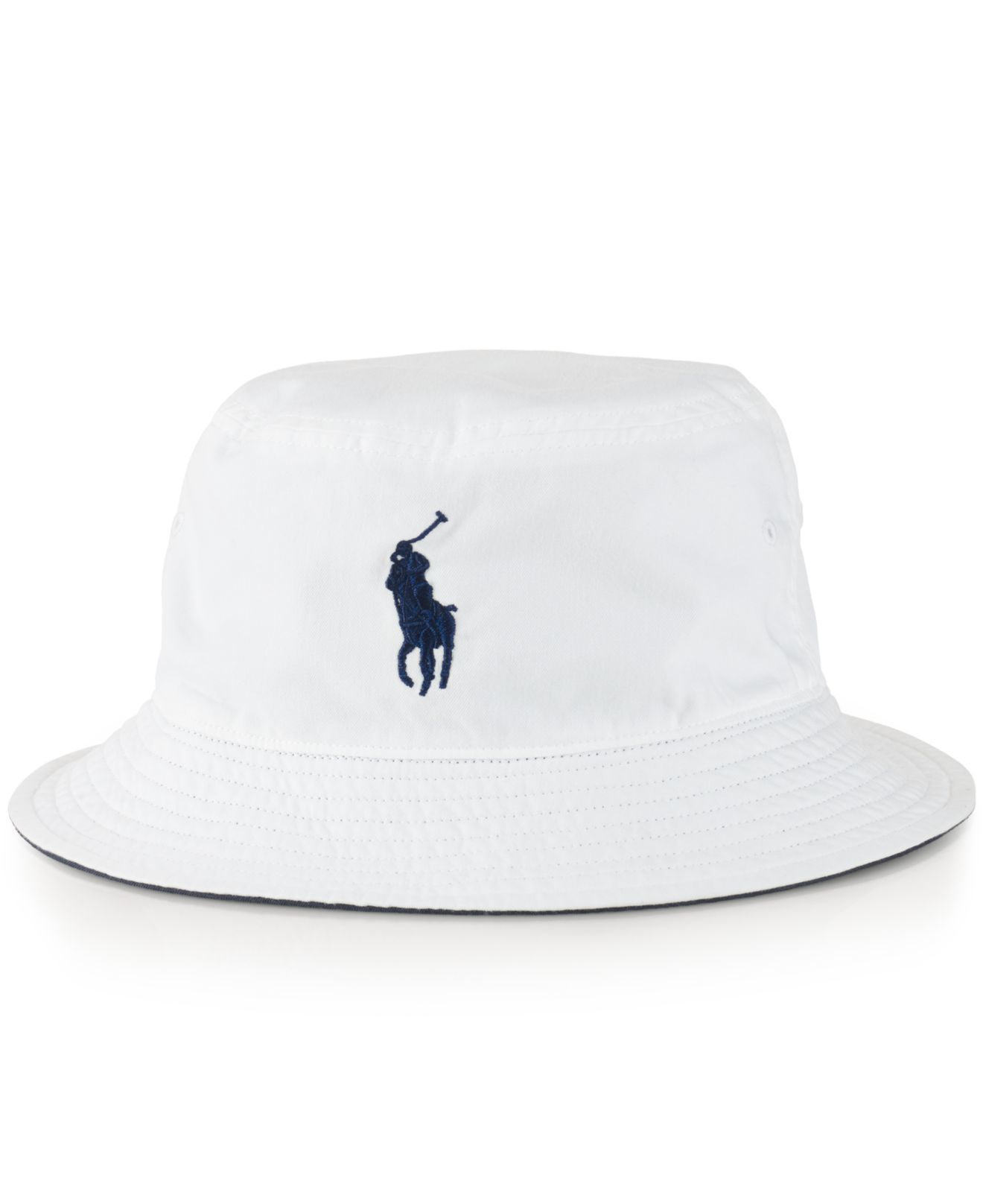 2dc72c429af Lyst Polo Ralph Lauren Us Open Chino Bucket Hat In White For Men