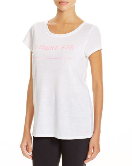 Breast cancer awareness t shirt tommy hilfiger