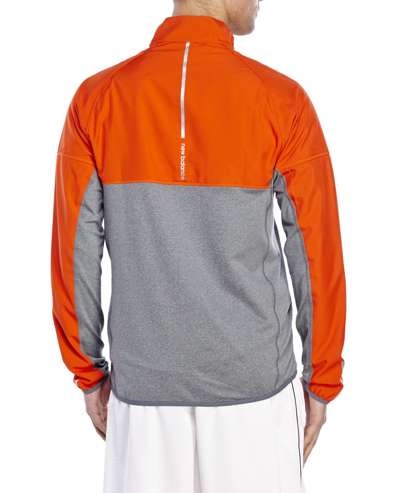 90e96cea79a84 New Balance Raptor Jacket in Orange for Men - Lyst