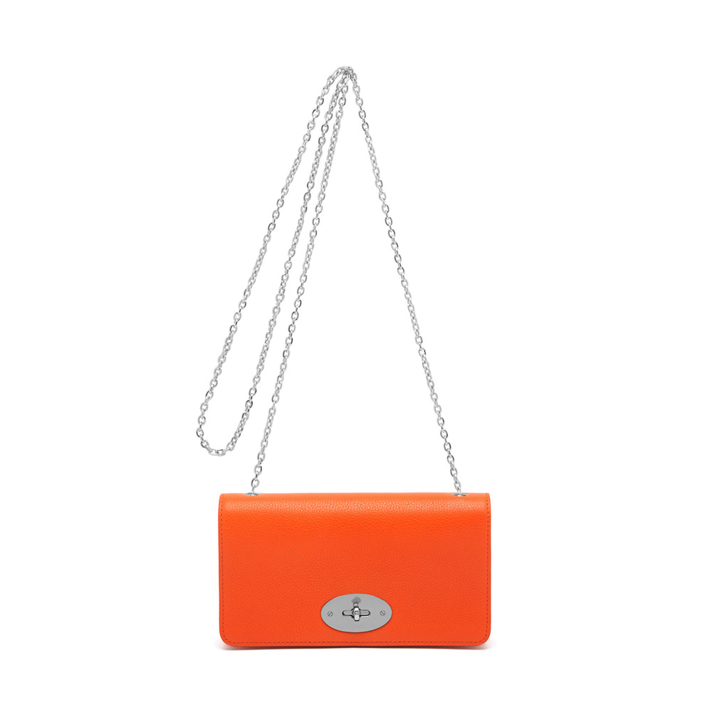 0d25f1cc6781 Lyst - Mulberry Bayswater Clutch Wallet in Orange