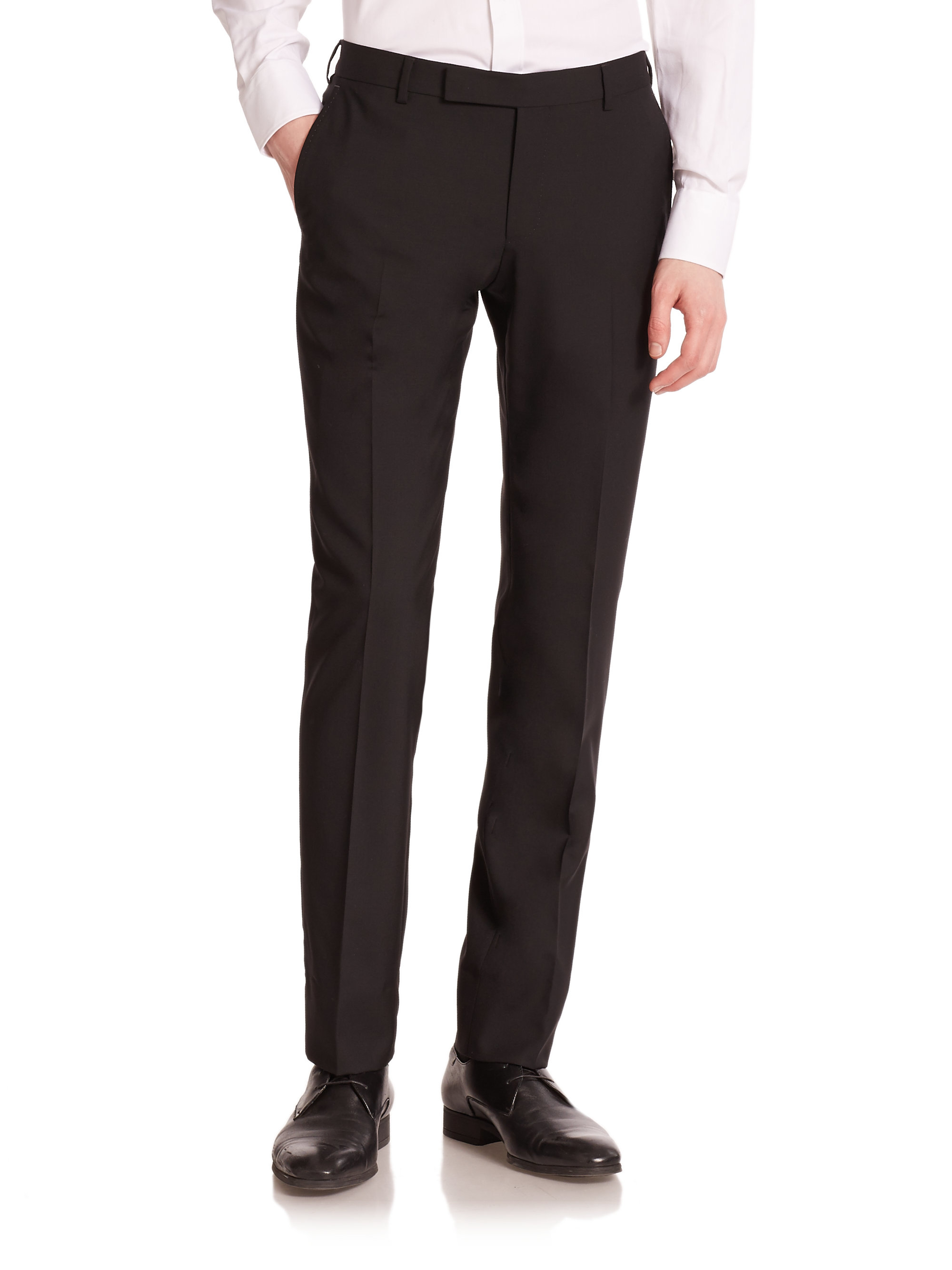 Shop Men's Pants: Dress Pants, Chinos, Khakis, pants and more at Macy's! Macy's Presents: The Edit- A curated mix of fashion and inspiration Check It Out. Free Shipping with $75 purchase + Free Store Pickup. Contiguous US. Calvin Klein Black Solid Modern Fit Tuxedo Pant.