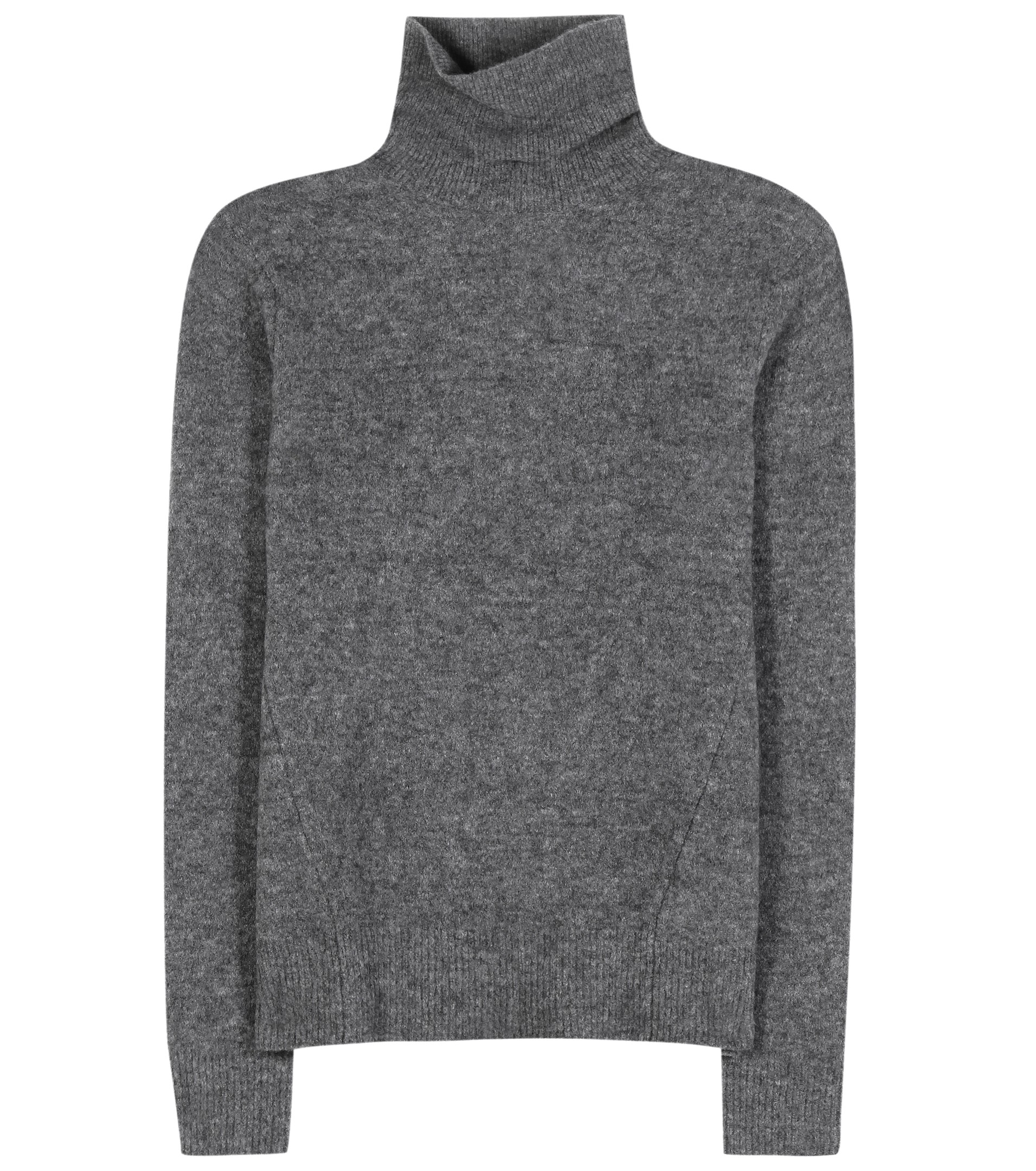 Marc by marc jacobs Wool-blend Turtleneck Sweater in Gray | Lyst
