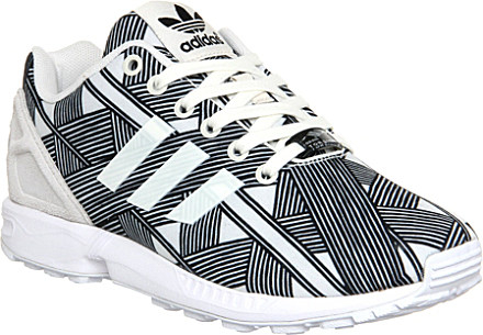 4367a5a9f official sneakersnstuff x adidas zx flux pattern pack fdf4a 4adff  greece adidas  zx flux patterned trainers for women in black lyst dae9f 8b413