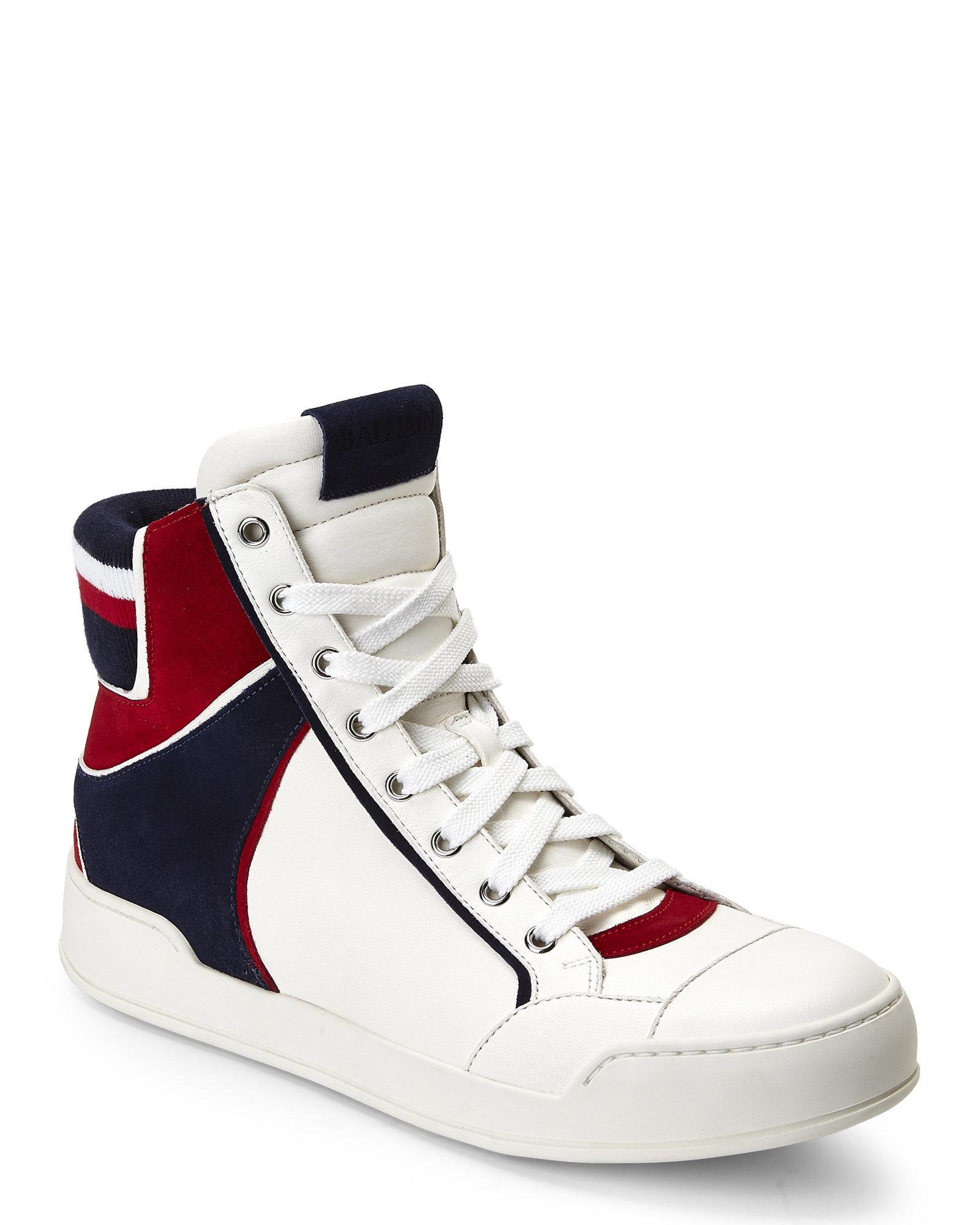 Pre-owned - Cloth high trainers Balmain bqT7ht