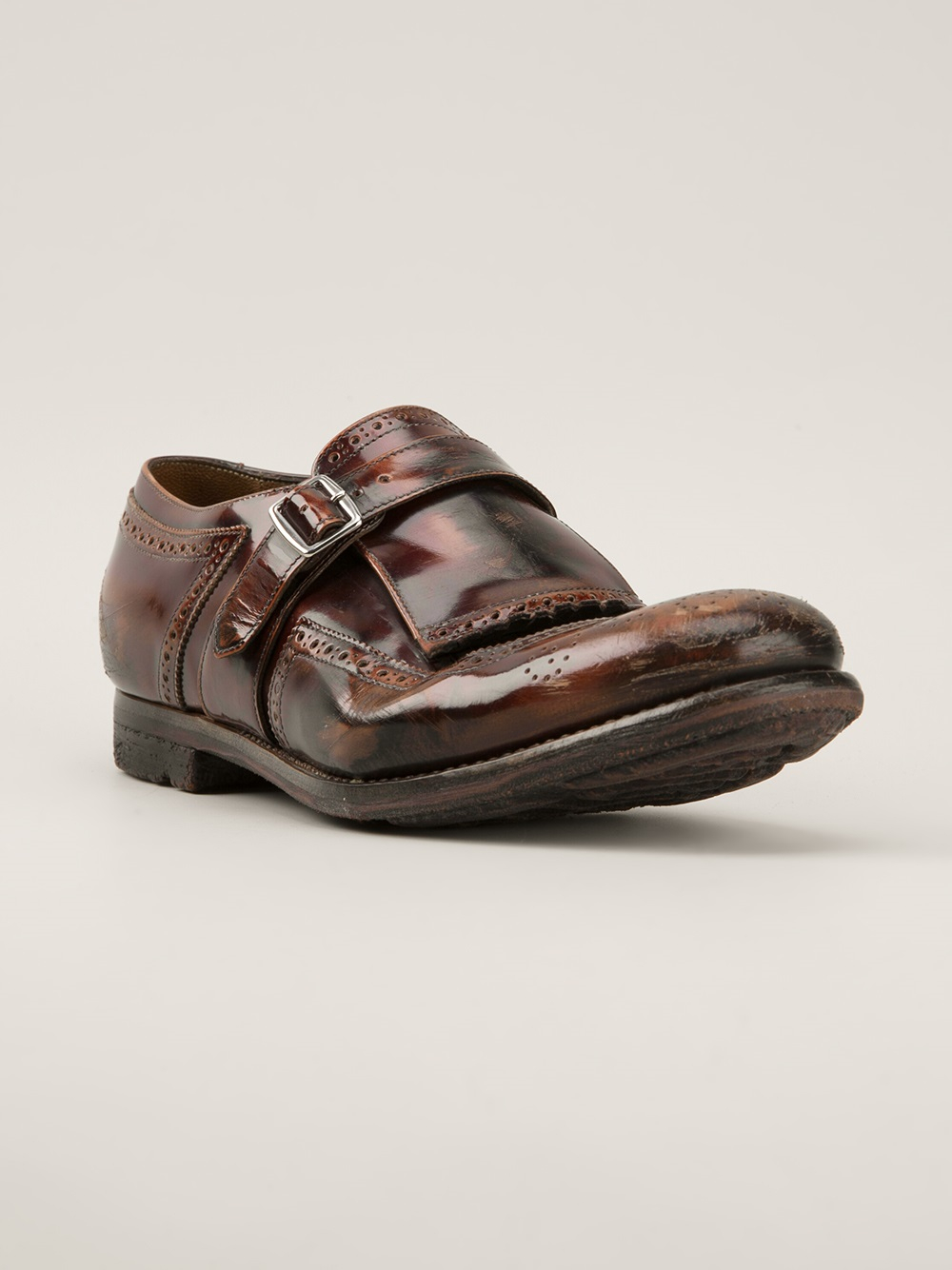 Church's Shanghai monk shoes outlet big discount FdImn