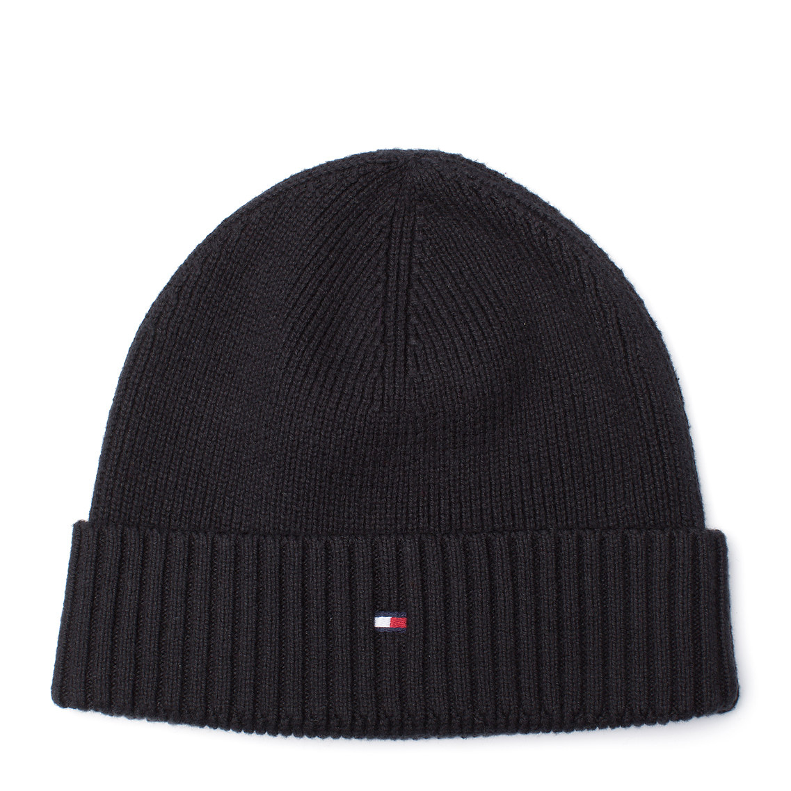 Tommy Hilfiger Pima Beanie in Black for Men - Lyst 313af4638d6