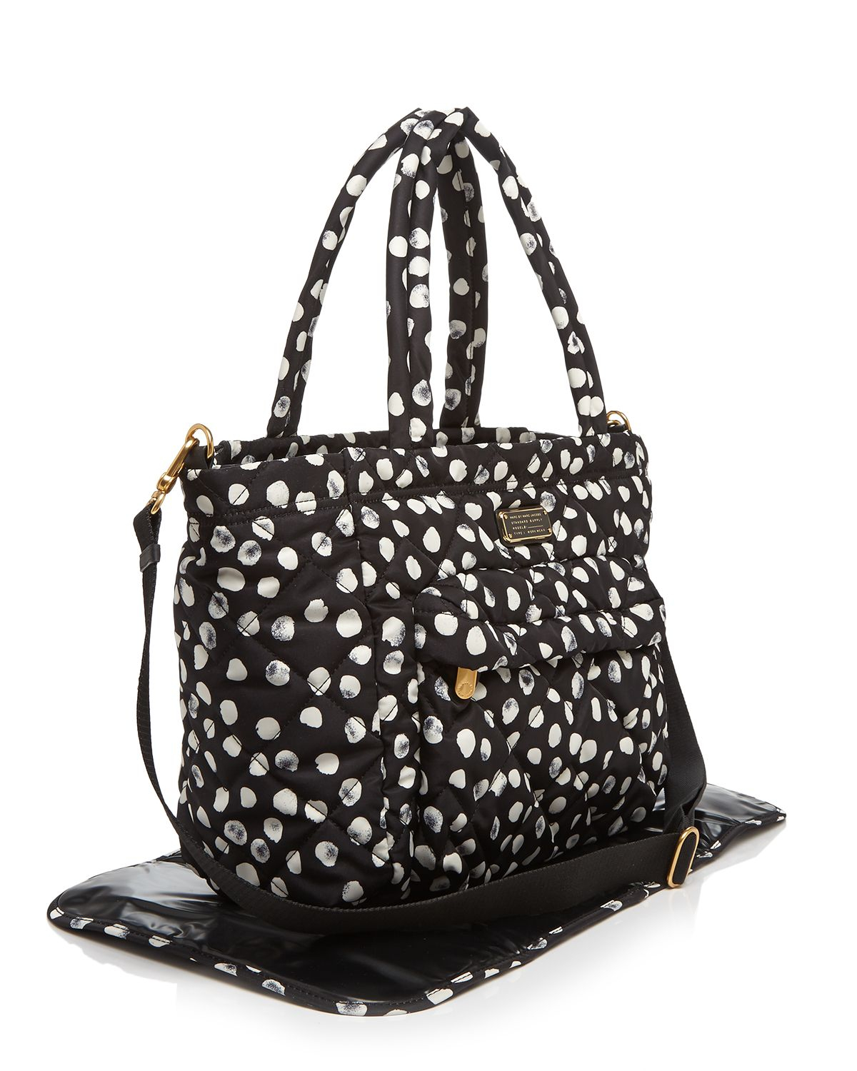 Lyst Marc By Marc Jacobs Diaper Bag Crosby Quilt