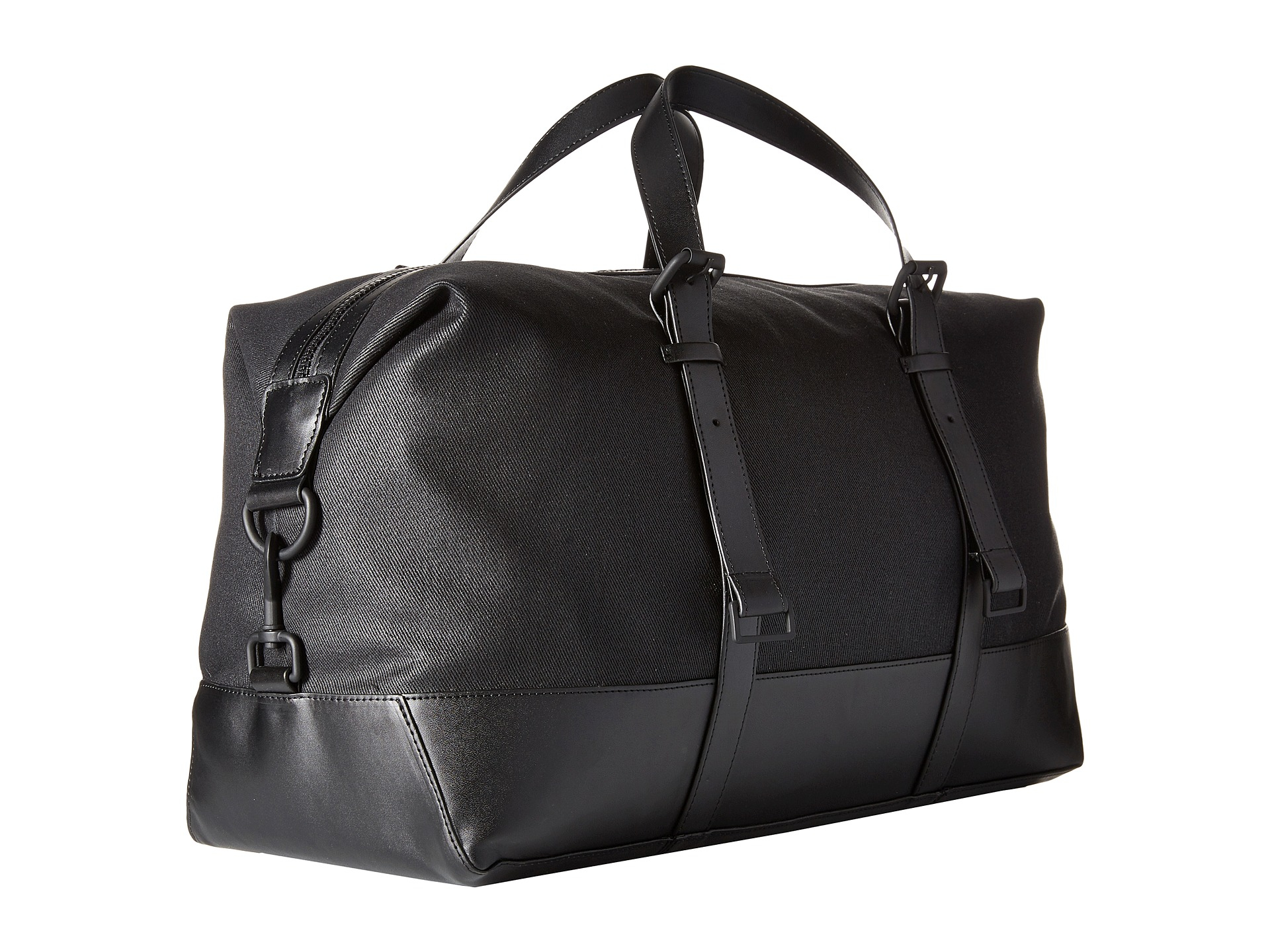 bfe2fca5c21 Calvin Klein Coated Canvas Duffel Bag in Black for Men - Lyst