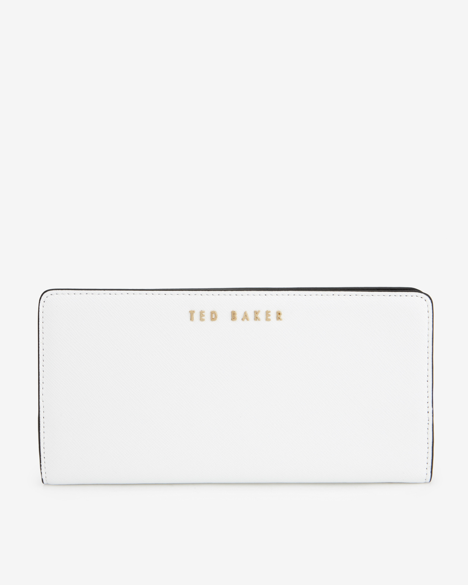 7d5d0f153a3cc Lyst Ted Baker Colour Block Matinee Purse In White