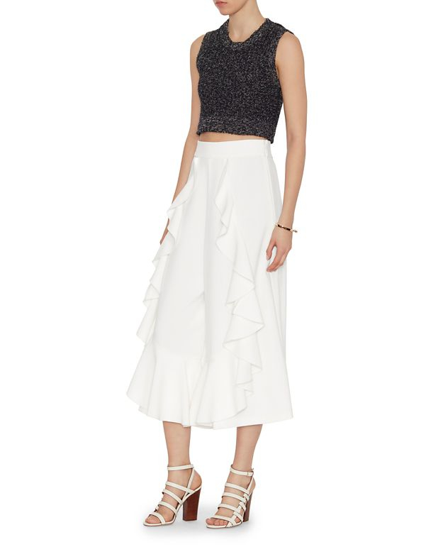 Alice mccall World Way Gaucho Pant in White | Lyst