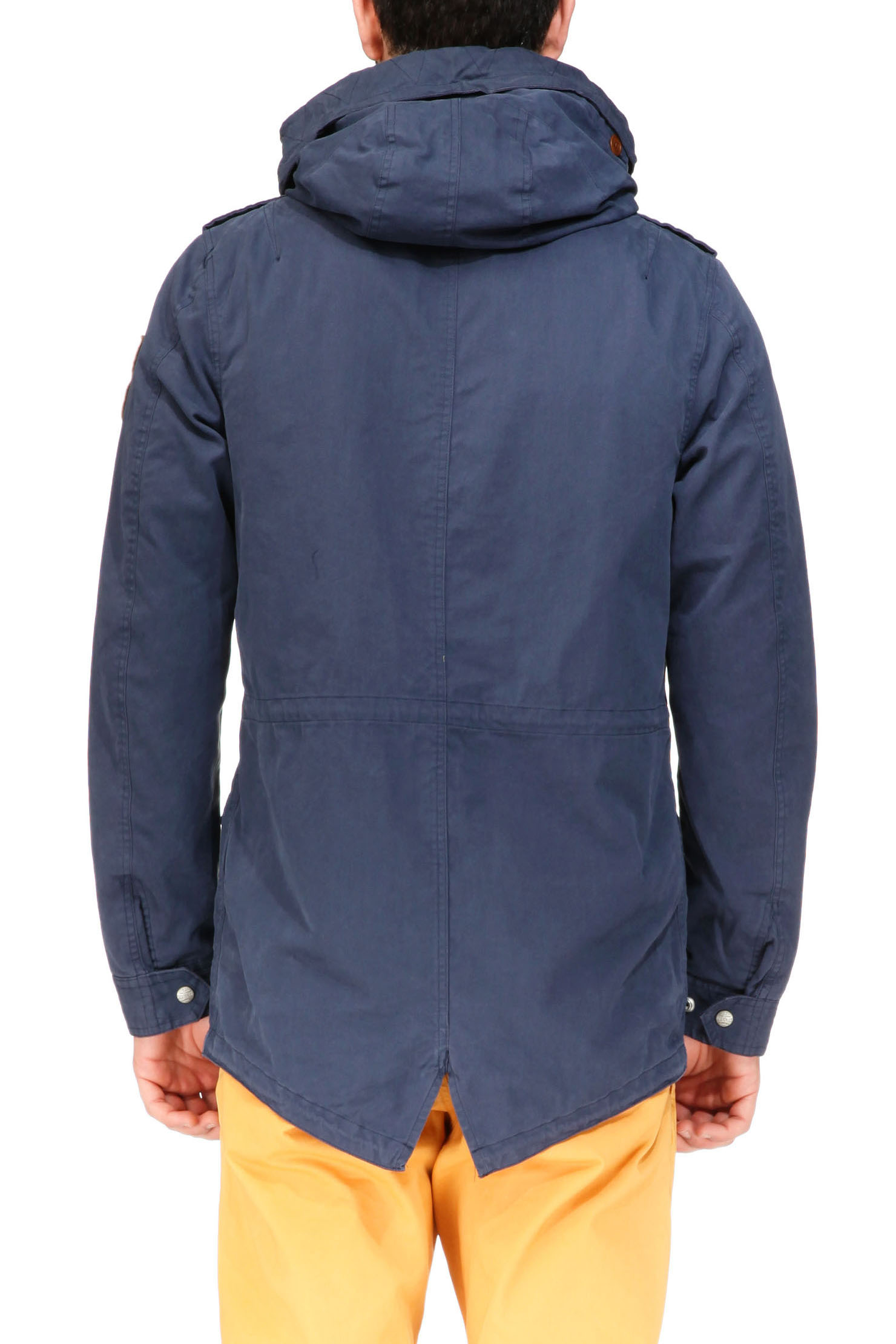 scotch soda parka in blue for men lyst. Black Bedroom Furniture Sets. Home Design Ideas